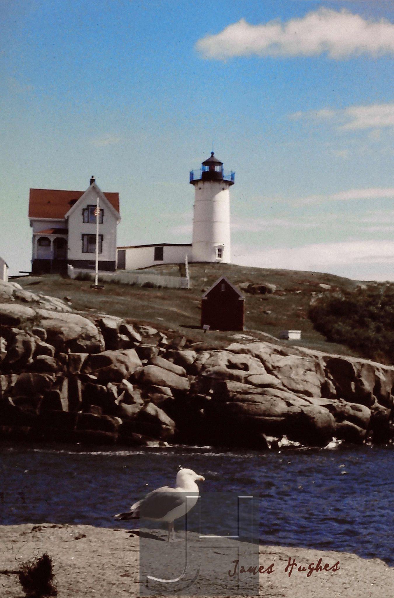 Nubble Light. Wells, ME by James Hughes Photography