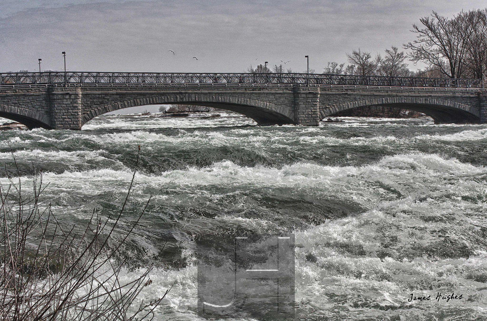 Niagara River by James Hughes Photography