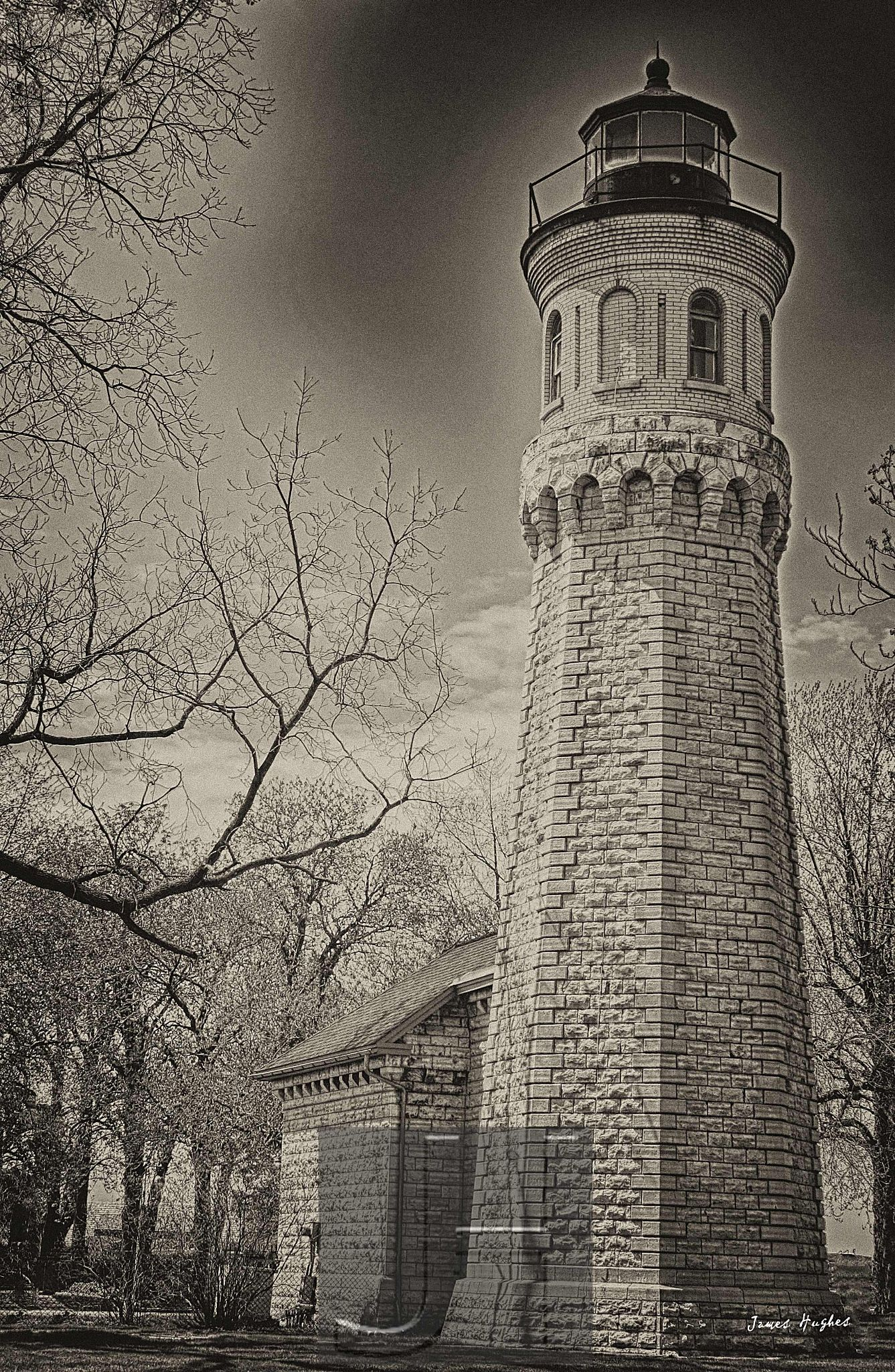 Old Fort Niagara Light by James Hughes Photography