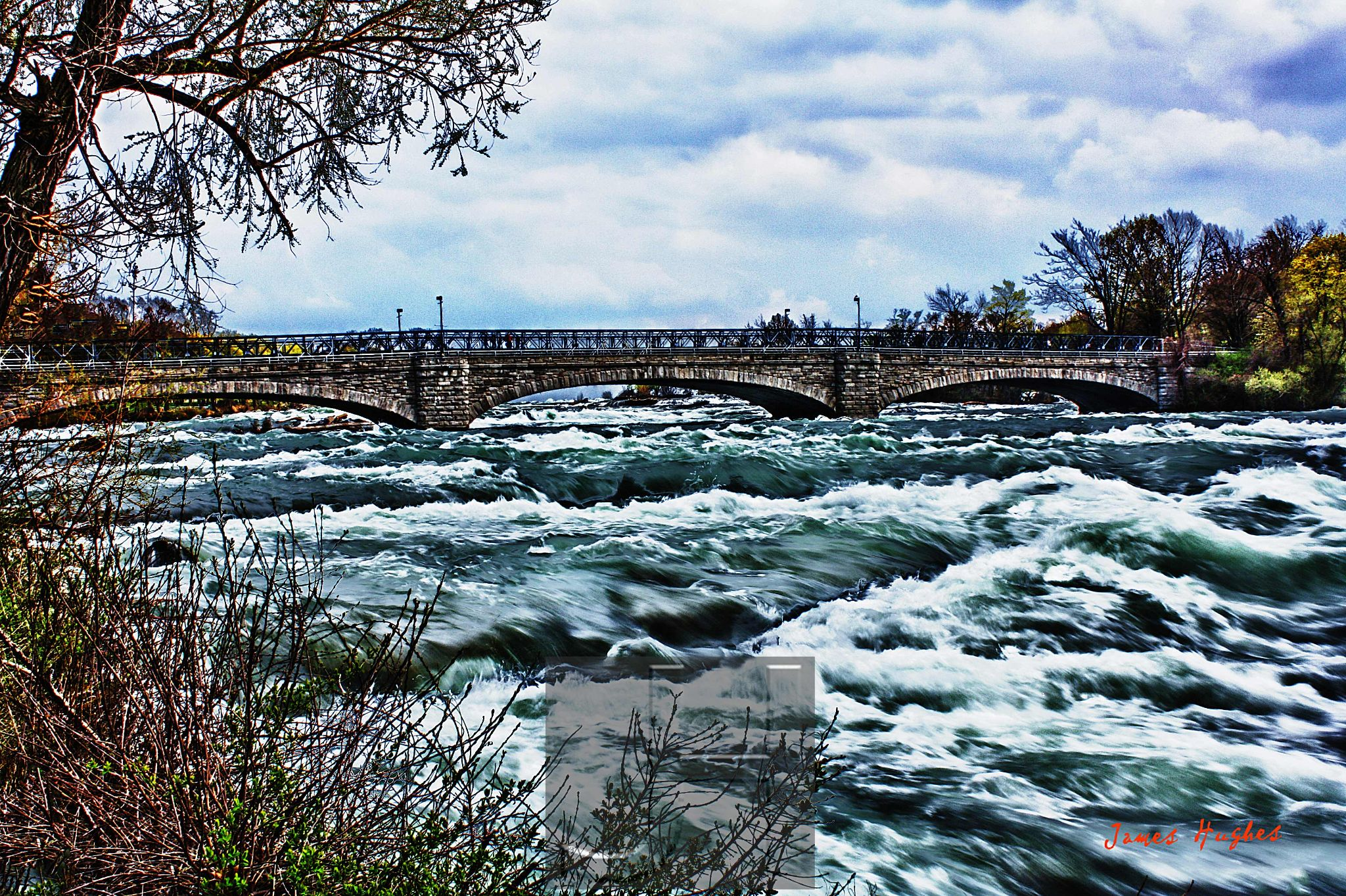 Niagara River by James Hughes Photography