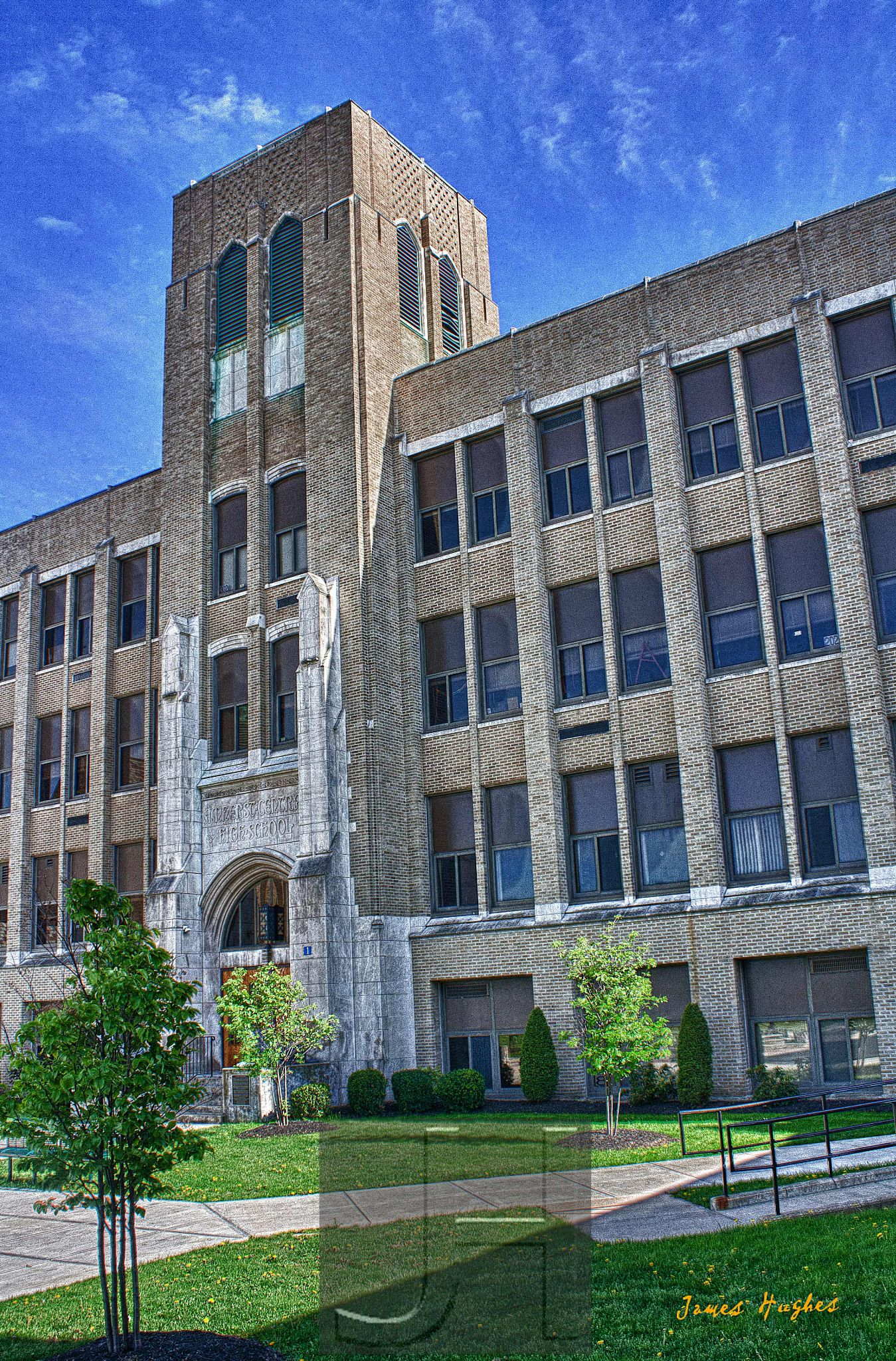 My old High School by James Hughes Photography