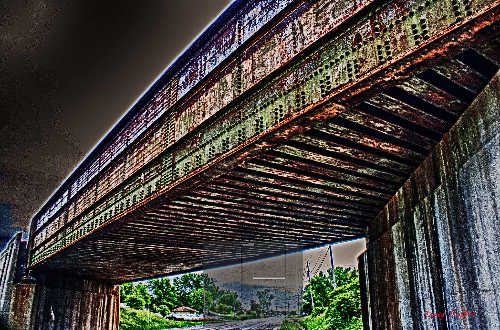 Railroad Bridge 1 by James Hughes Photography