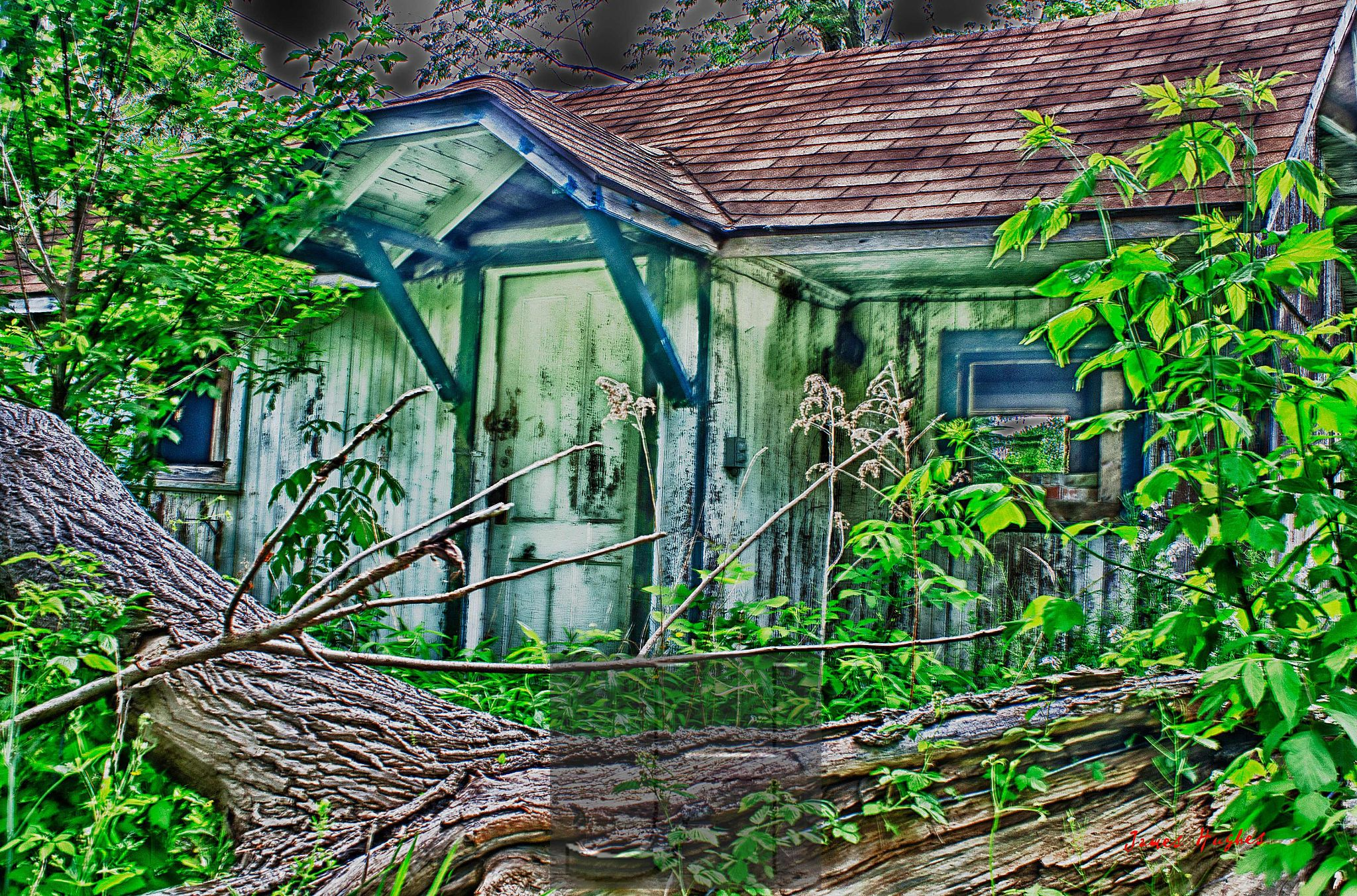 Abandoned House by James Hughes Photography