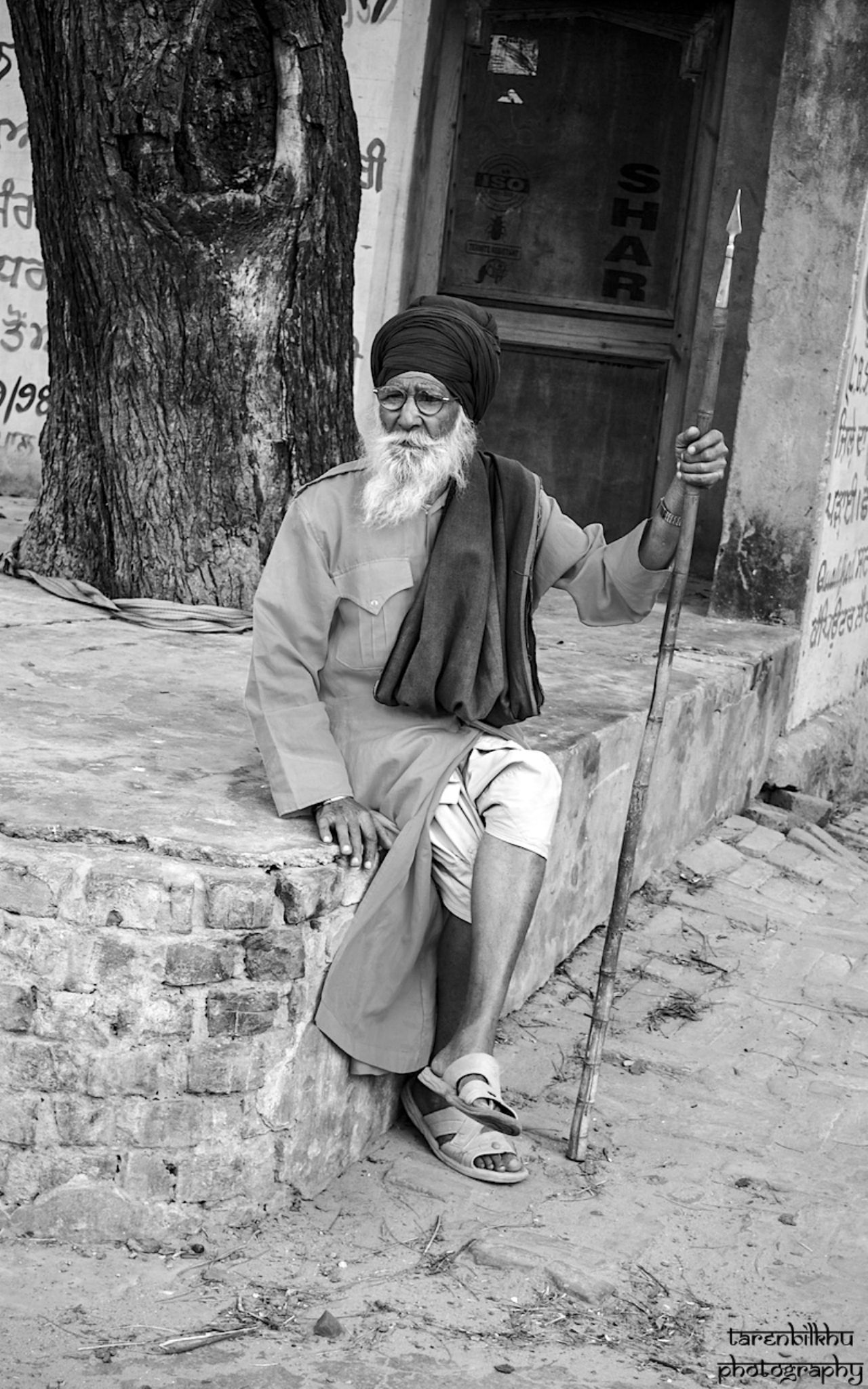 Elderly Singh by tarenbilkhu
