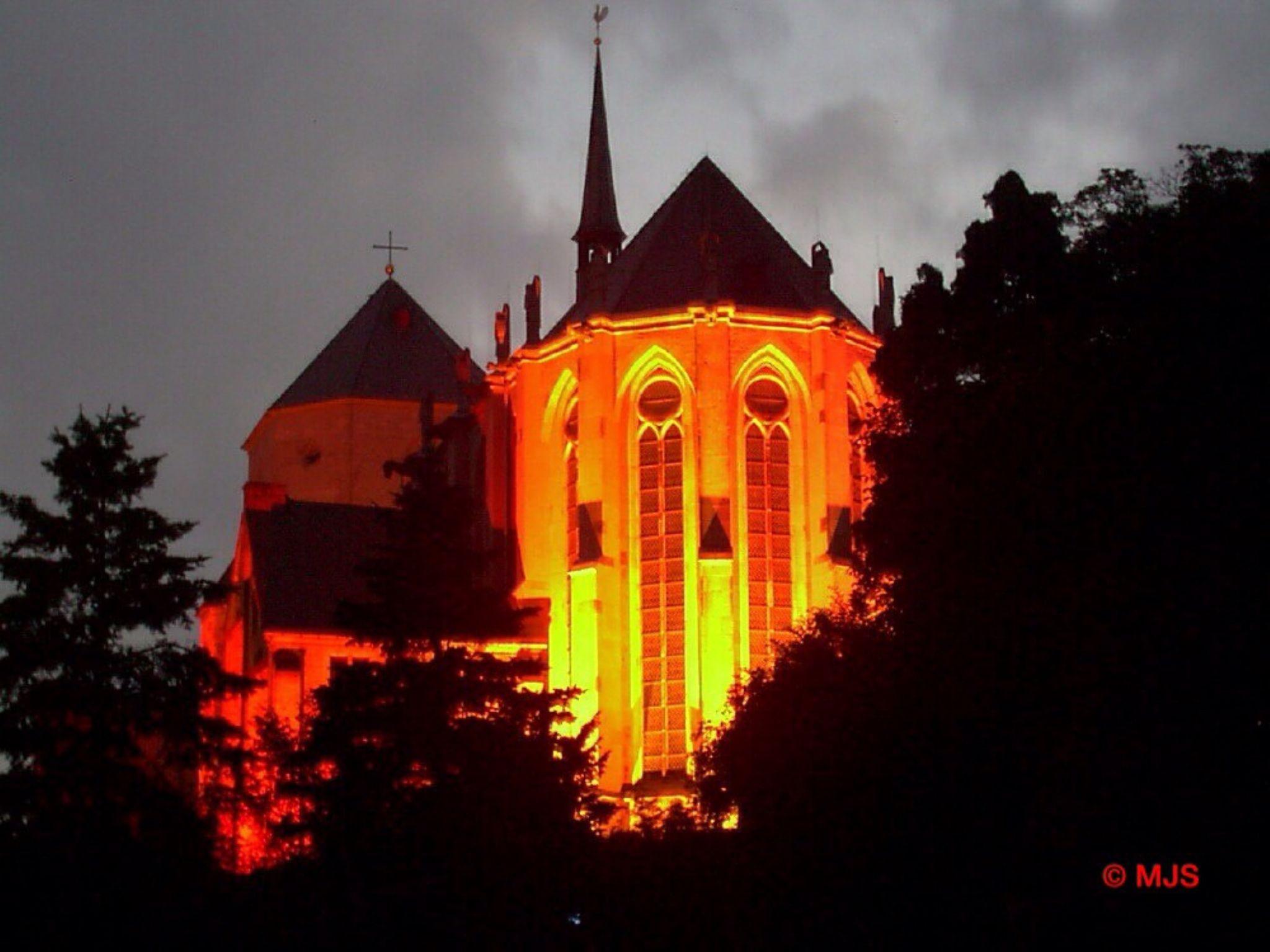 Church in the Night  by MJSMarcJoern