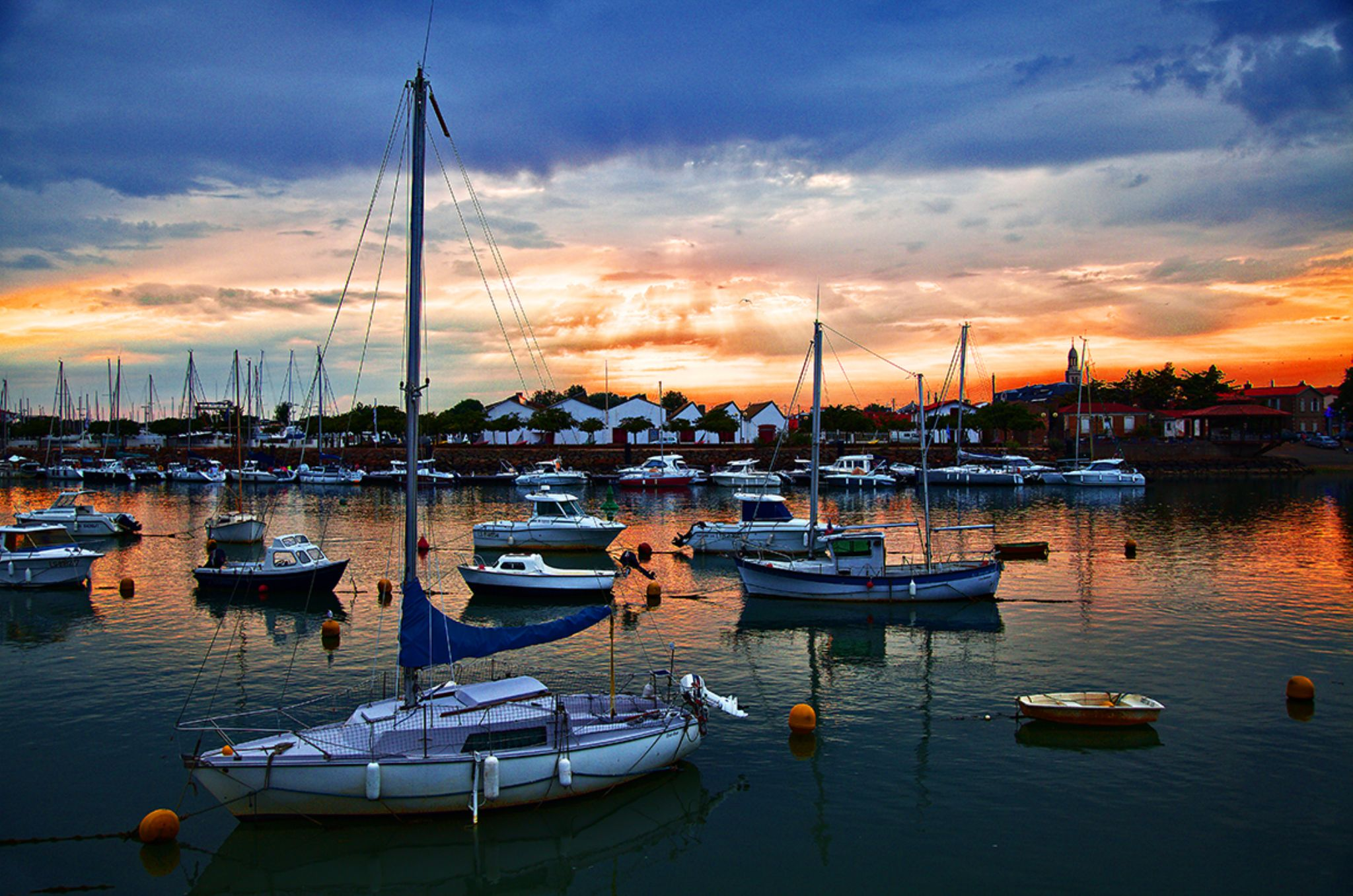 Sunset Harbour by Steve Smith