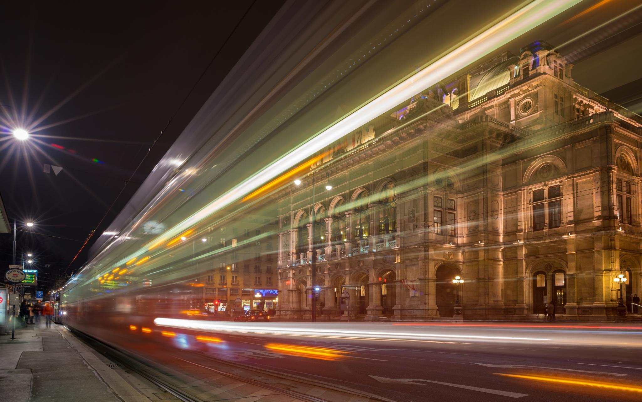 Vienna Opera by Pixmil Photography