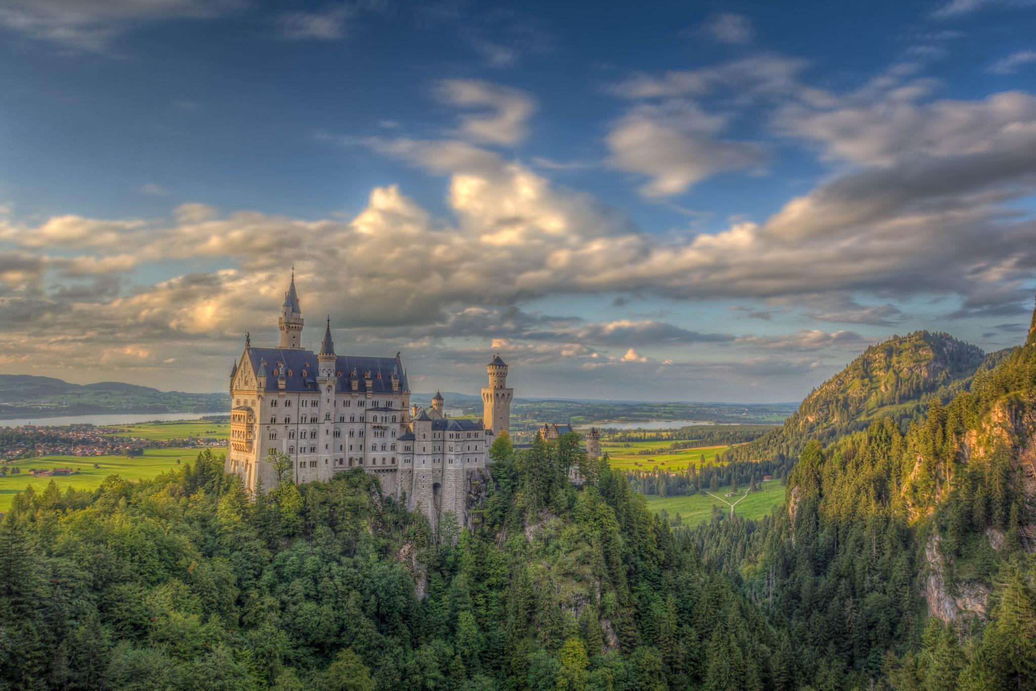 Neuschwanstein by Pixmil Photography