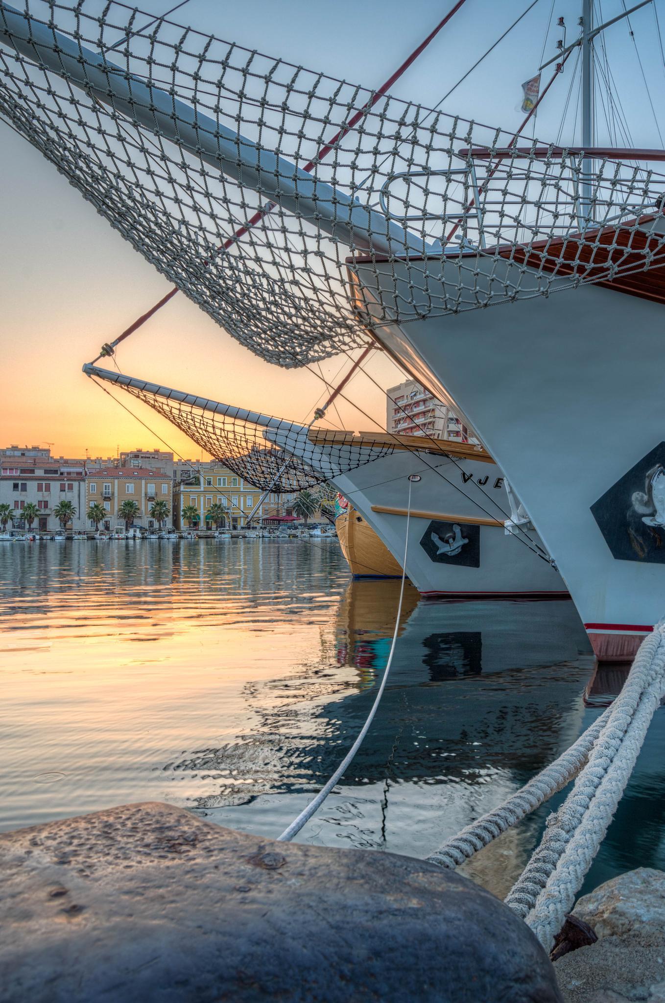Sunrise in Zadar by Pixmil Photography