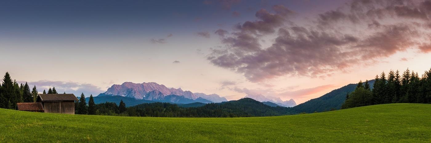 Alpine Gloaming by Martin Wasilewski