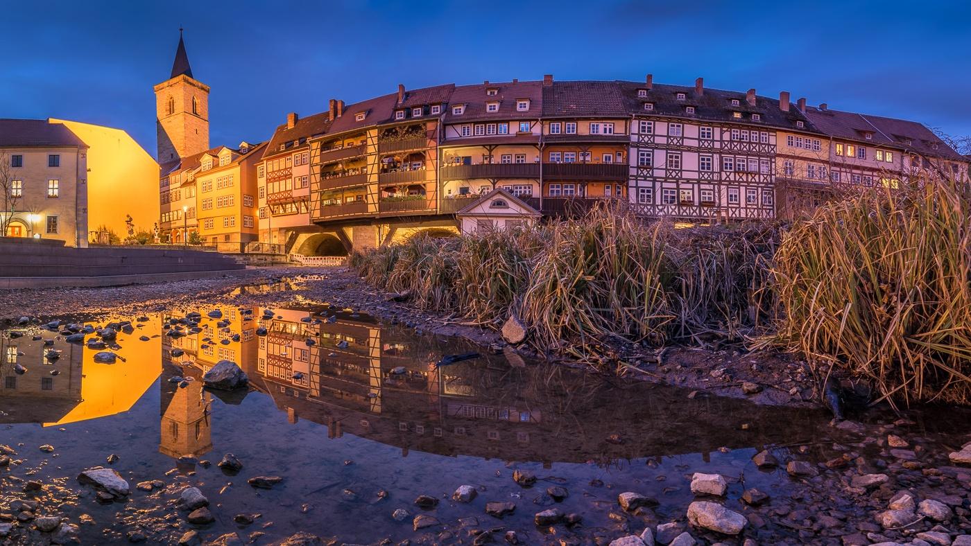 Erfurt Twilight by Martin Wasilewski