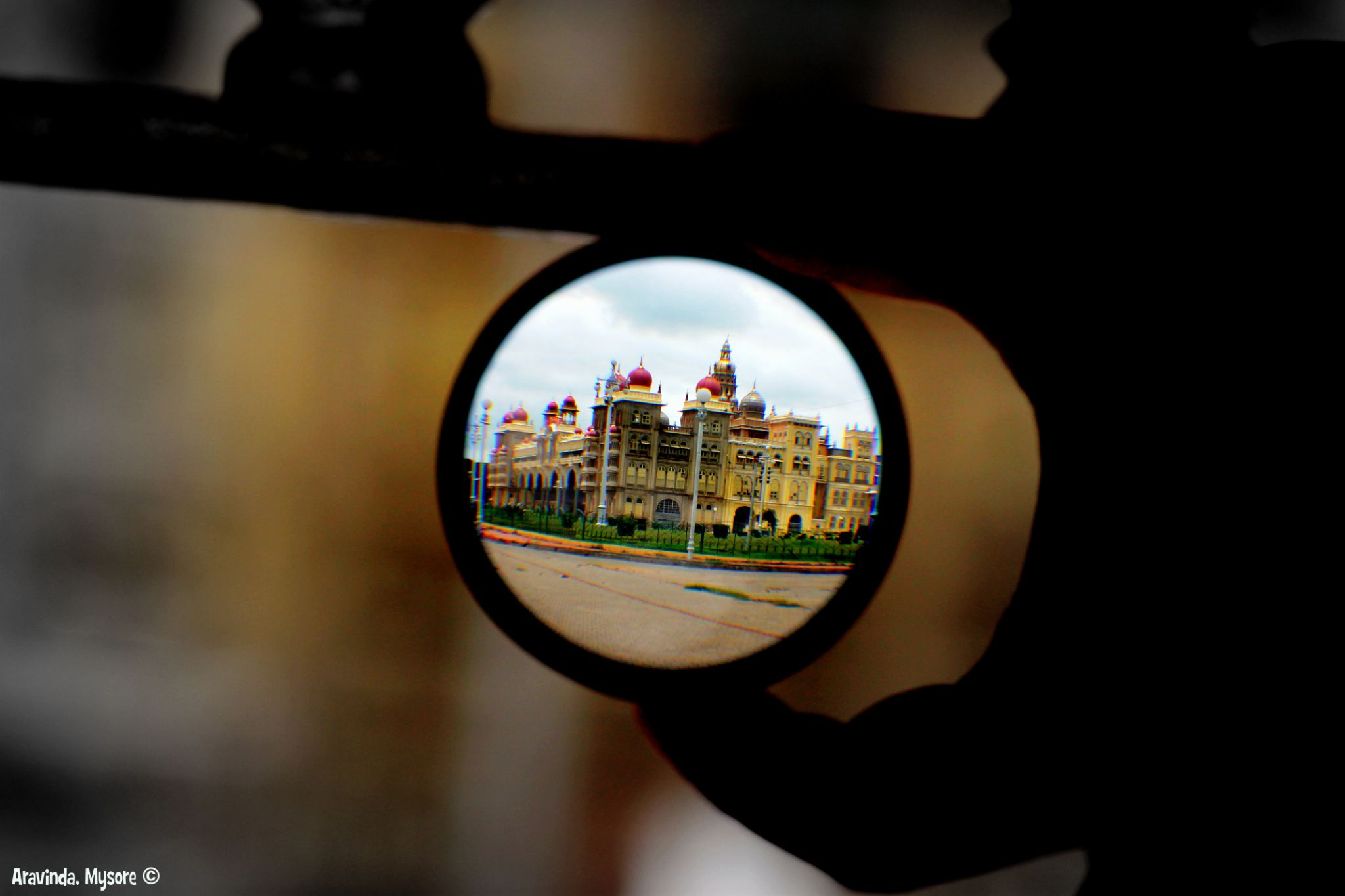 The Palace!!In A Miniature!! by aravinda.h.r