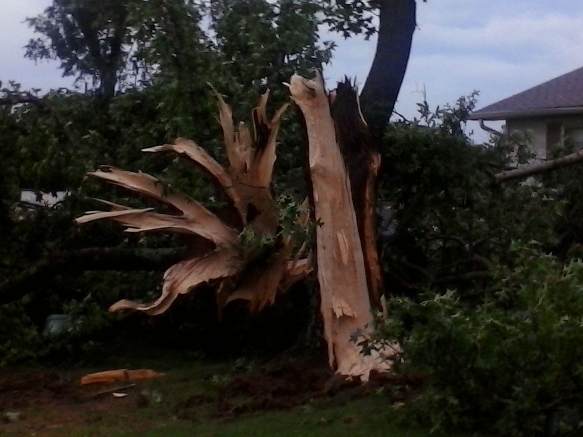 August 2014 Arkansas Storm Damage by kljacobs