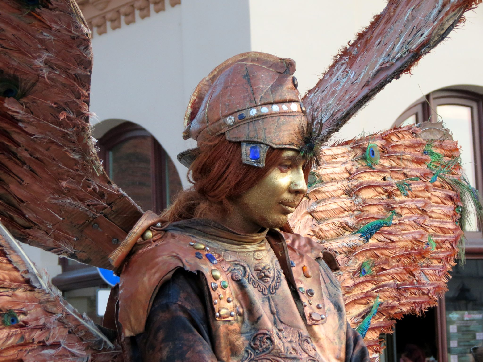 Metallic angel in Krakow/Poland by christopher.kerkovius