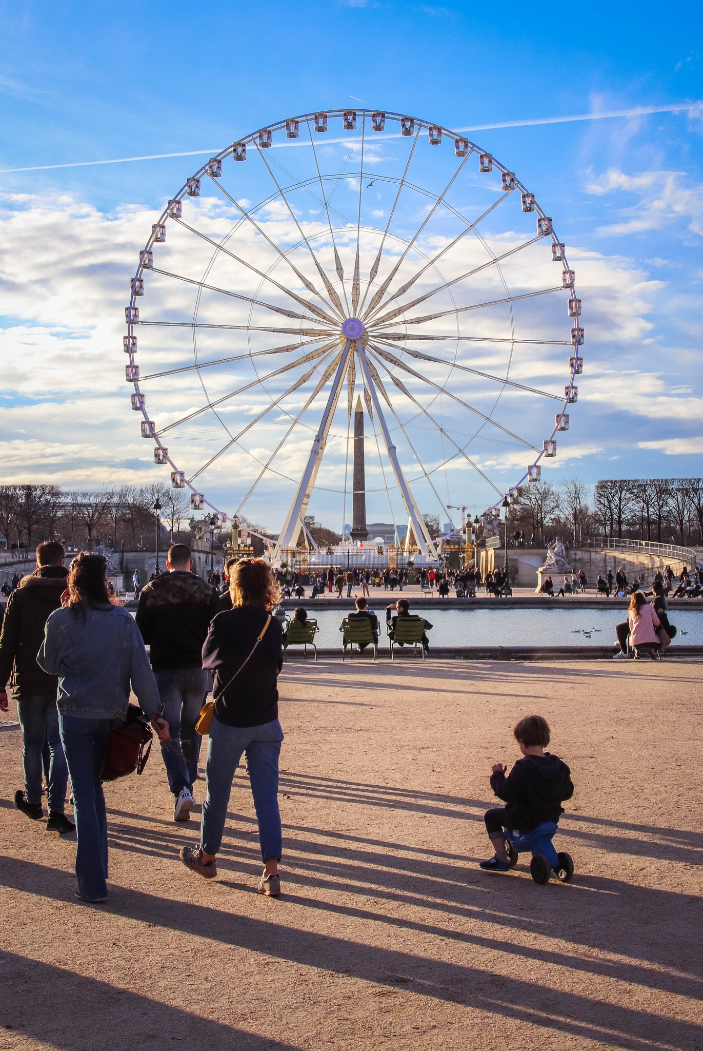 Jardin des Tuileries - Paris by Blueanna