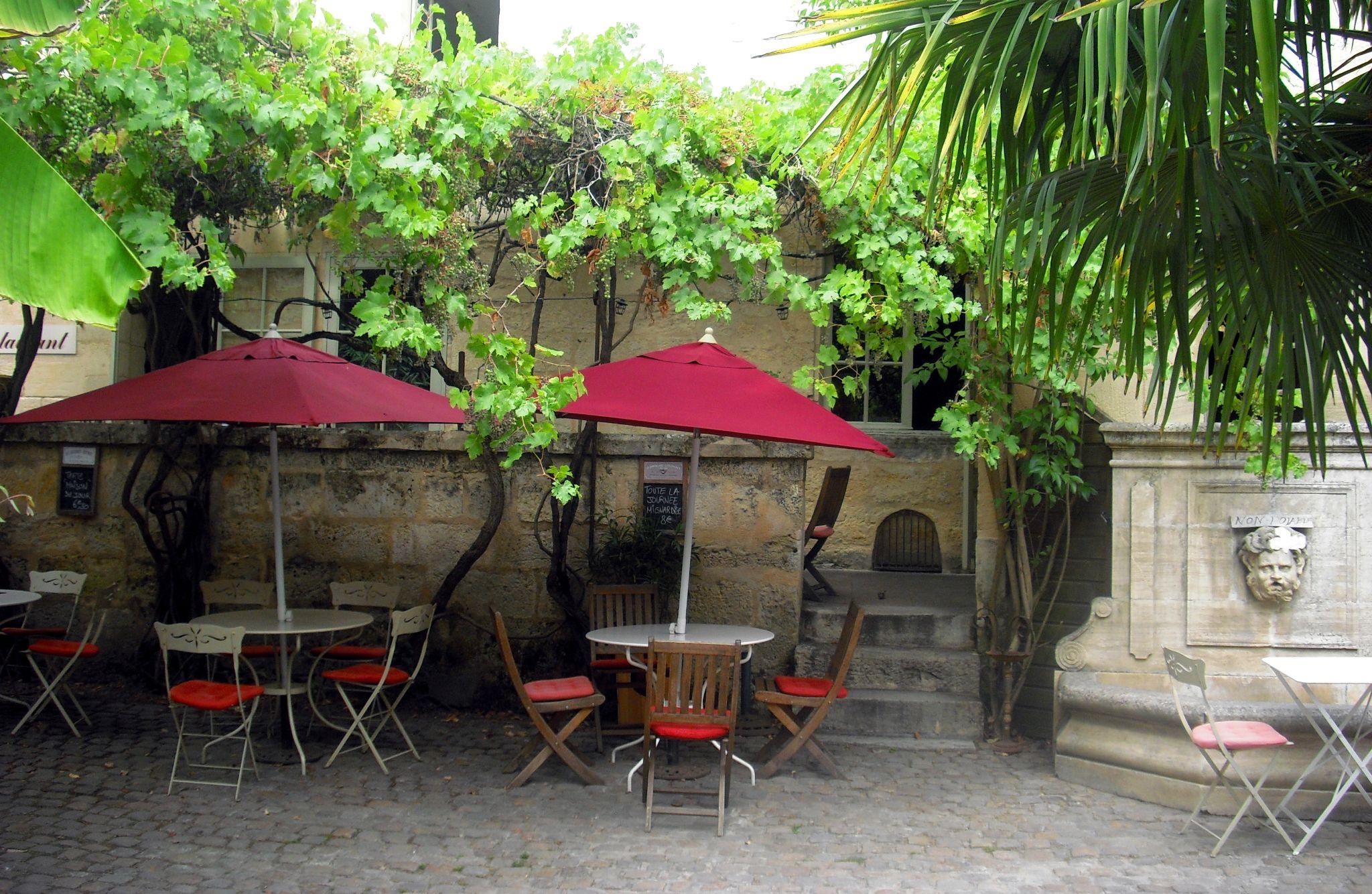 Terrasse à St-Emilion by Blueanna