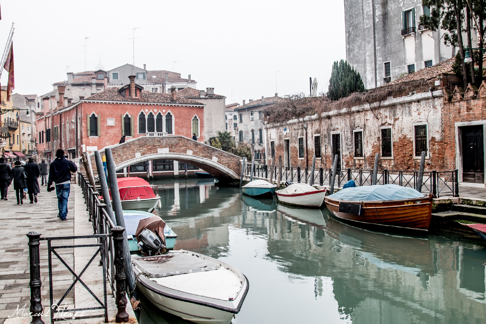 Boat on Venice grand canal by marcusneves2000