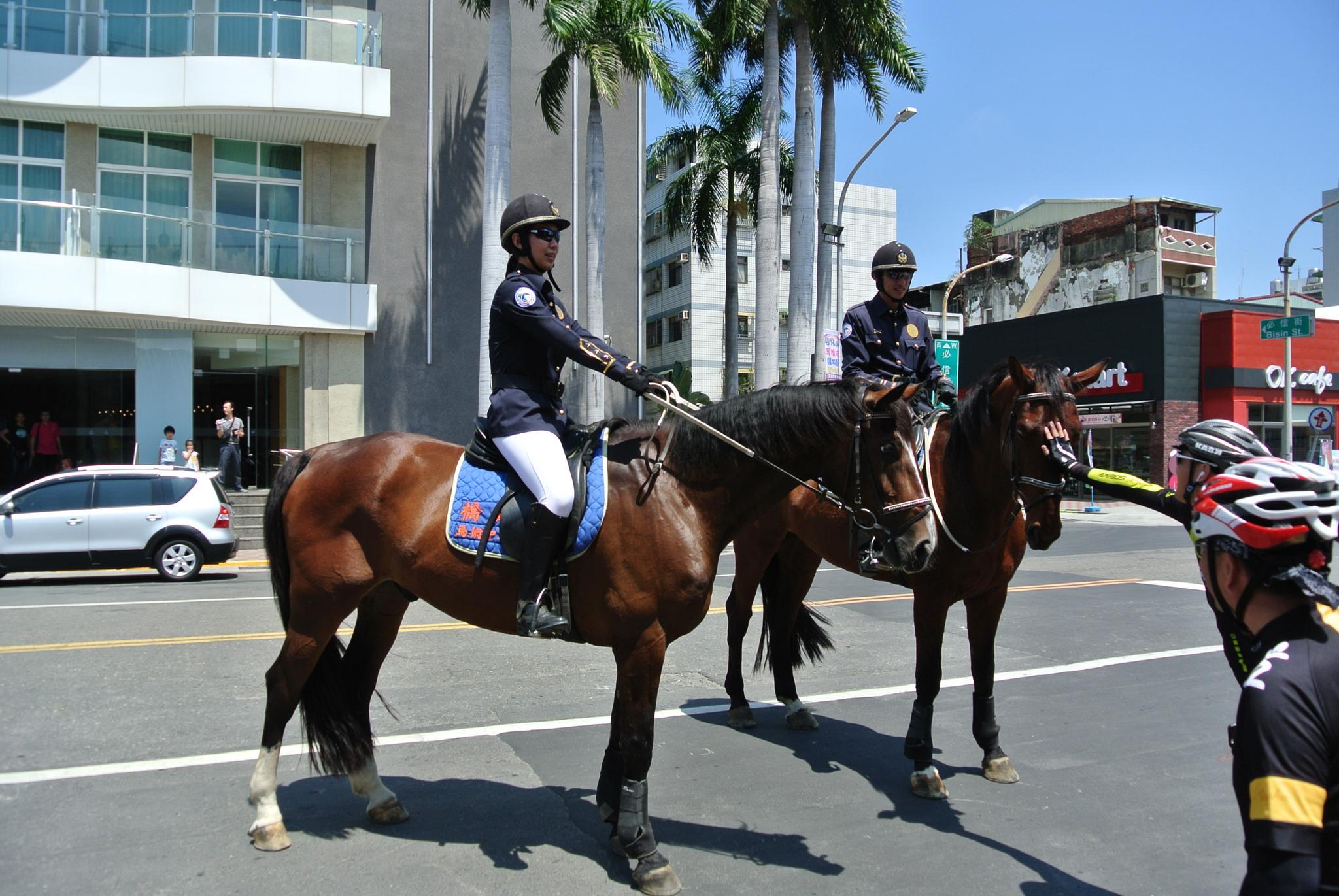 Riding Police by leehenrysg
