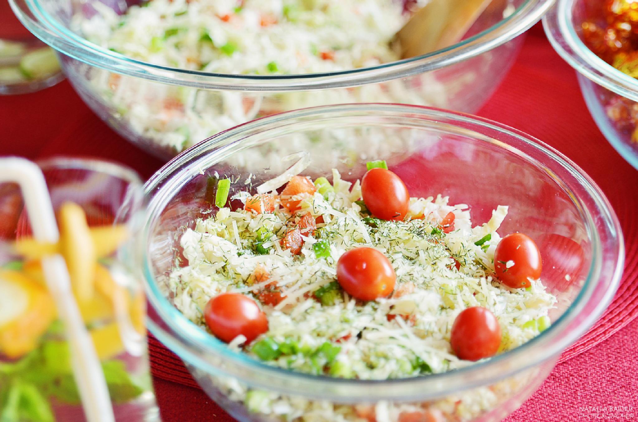 Healthy lunch by Nataliia Baidiuk