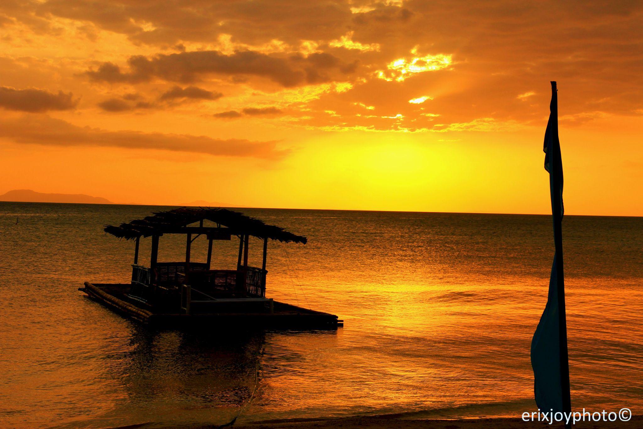 Calatagan sunset by EBautistaPhotography
