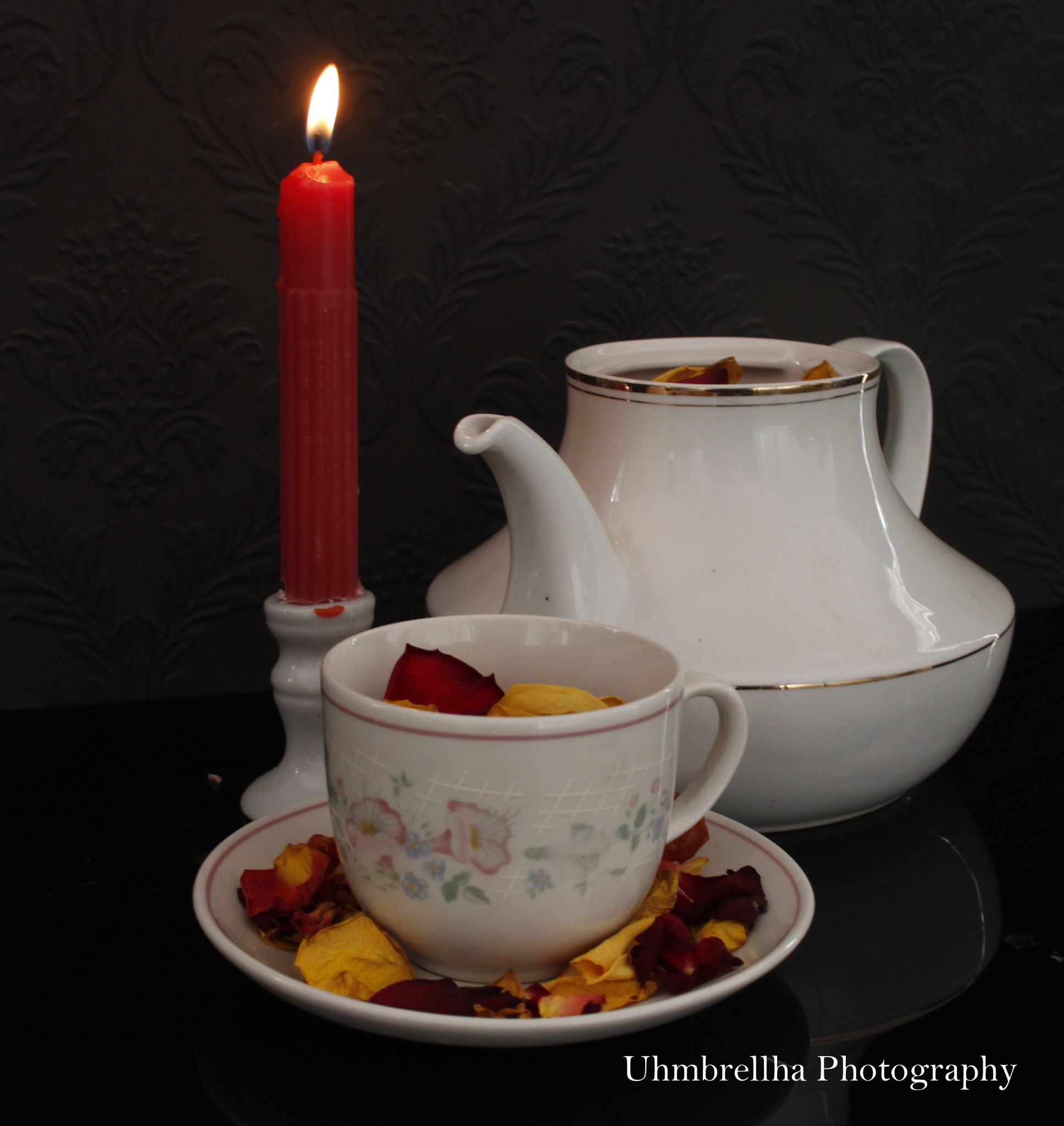 Roses tea by smithandredavid