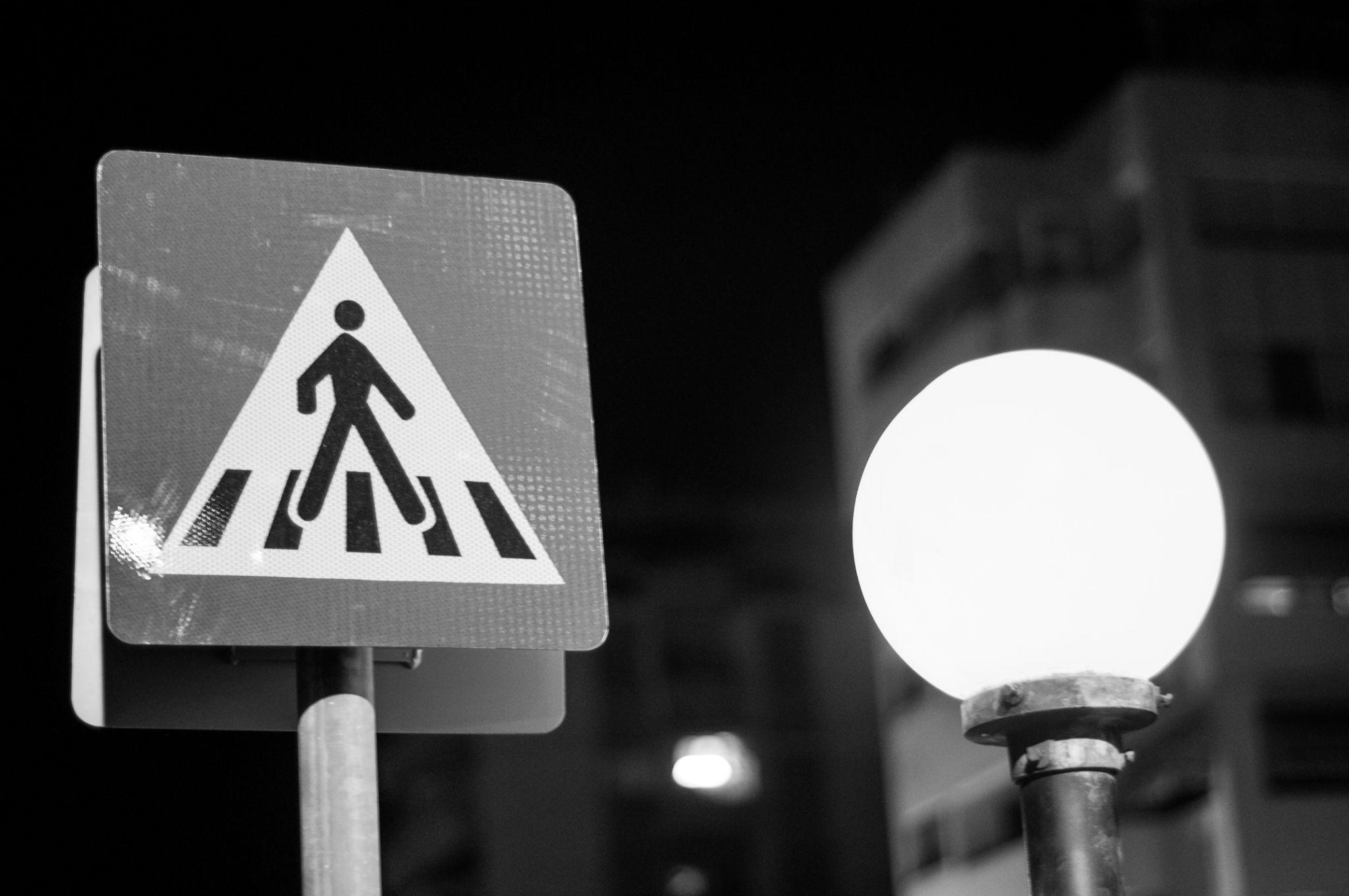Street Crossing by Dimitris Gkoutzamanis