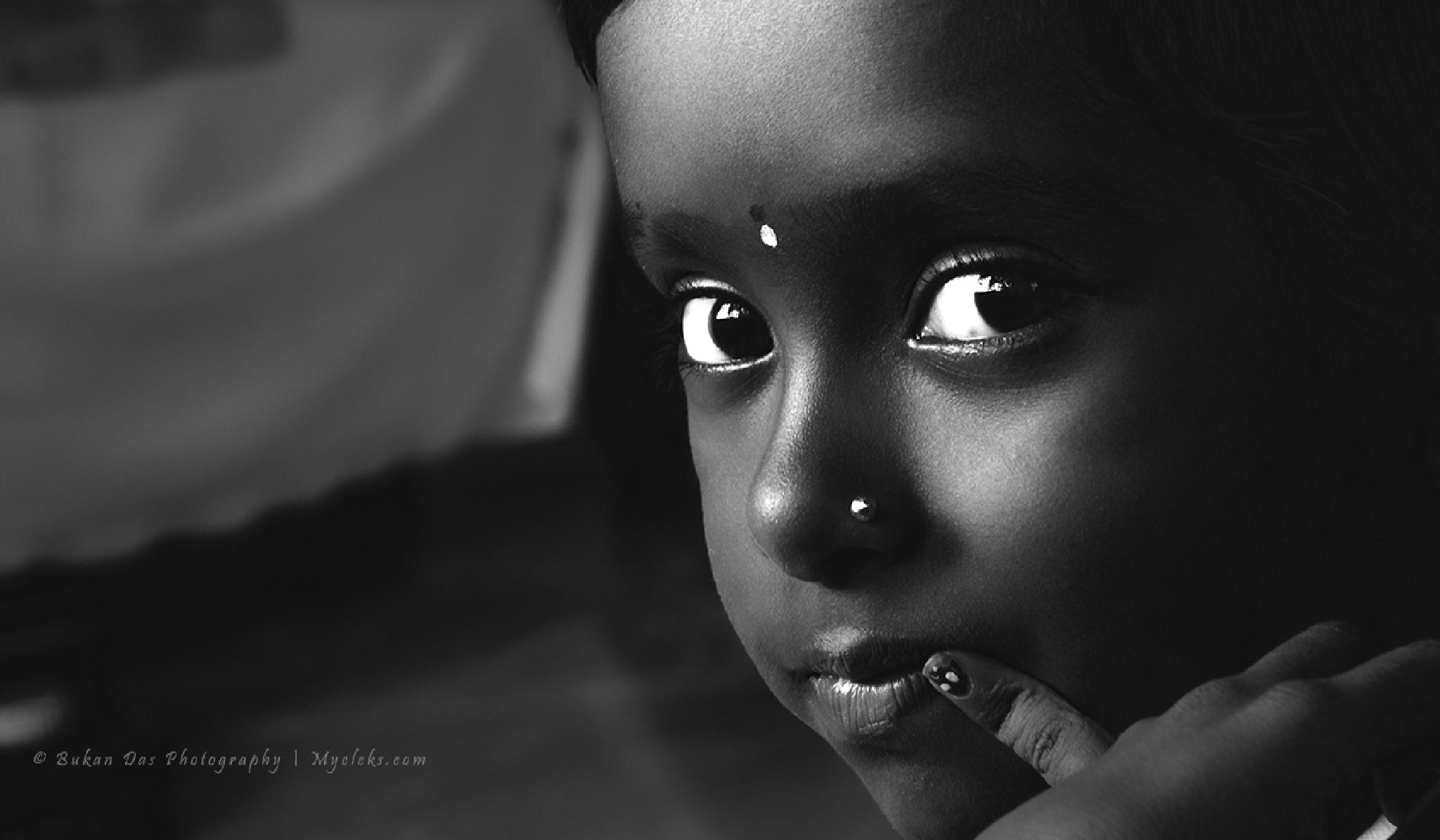 The Innocent Eyes! by BukanDas