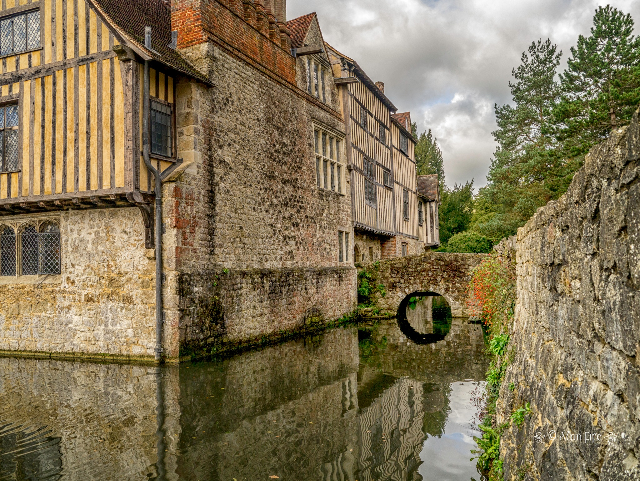 Ightham Mote by Alan Fife