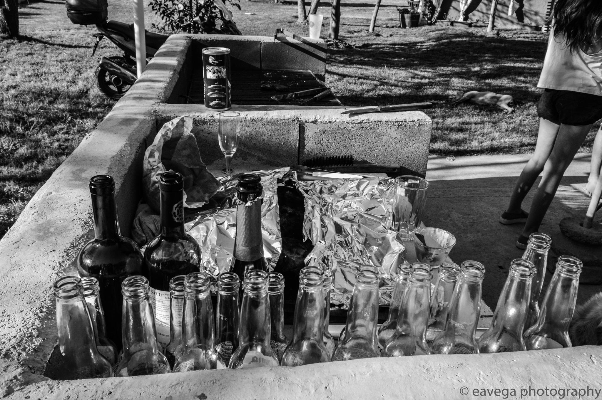 Bottles  by Eduardo Vega H