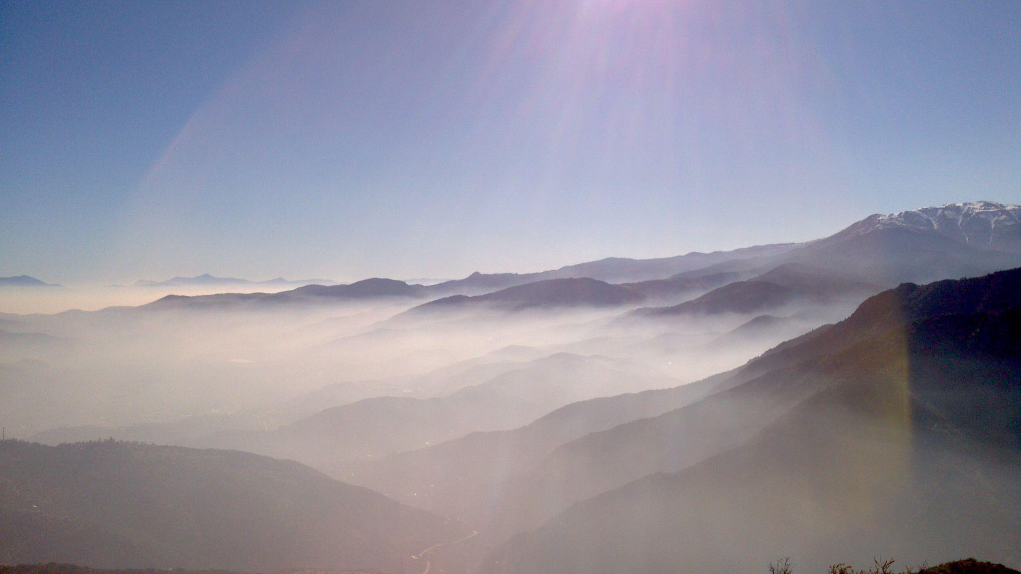 Smoke mountain by Eduardo Vega H