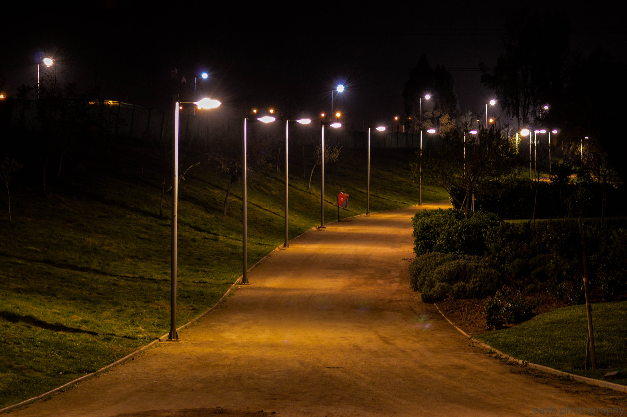 Night lights by Eduardo Vega H