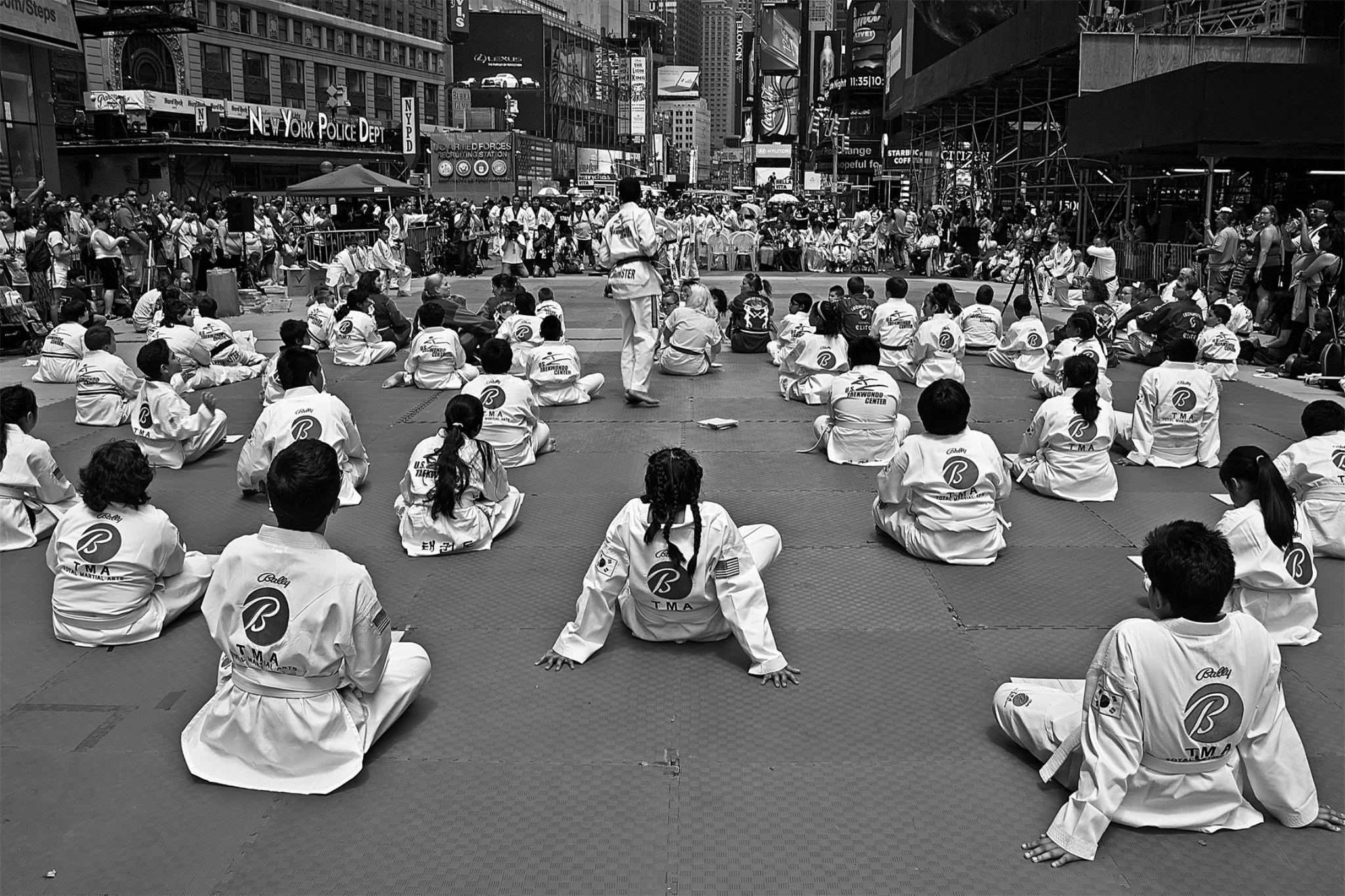 Taekwondocu Çocuklar ( Taekwondo Kids ) by Suleyman Bilgen