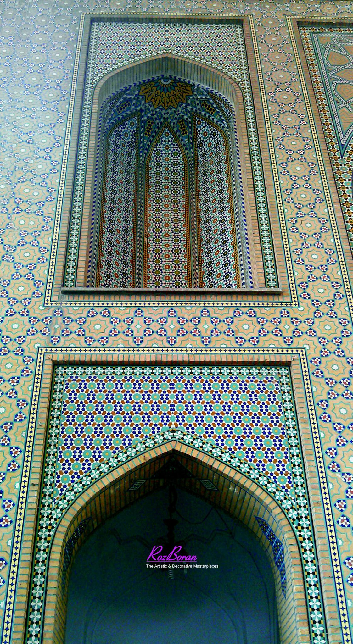 The Art of Tiles & Bricks by R O Z B O R A N