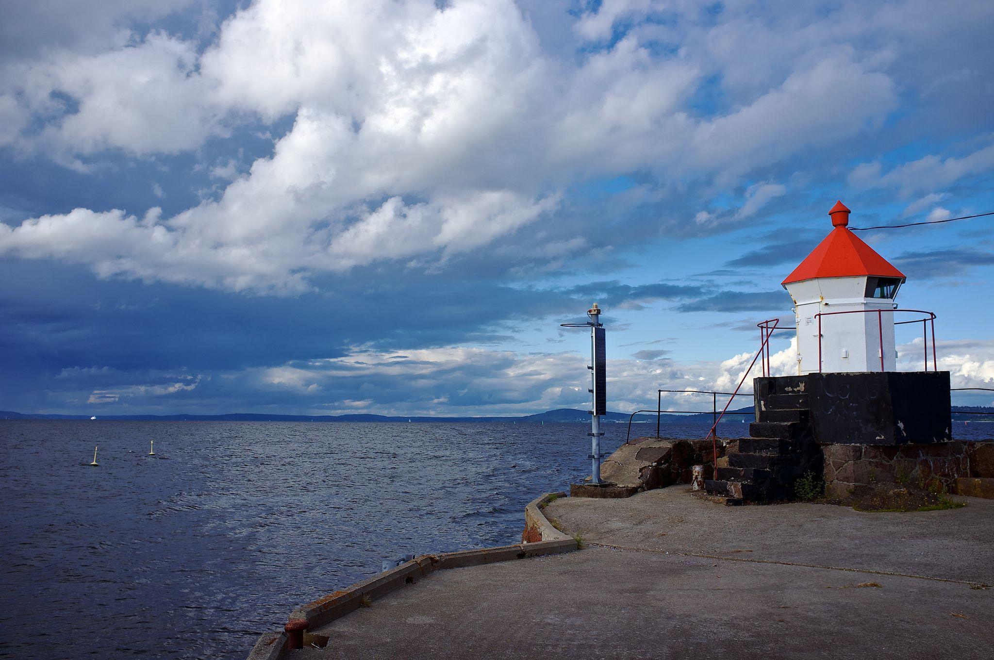 lighthouse by Kjell Arne Haraldsen
