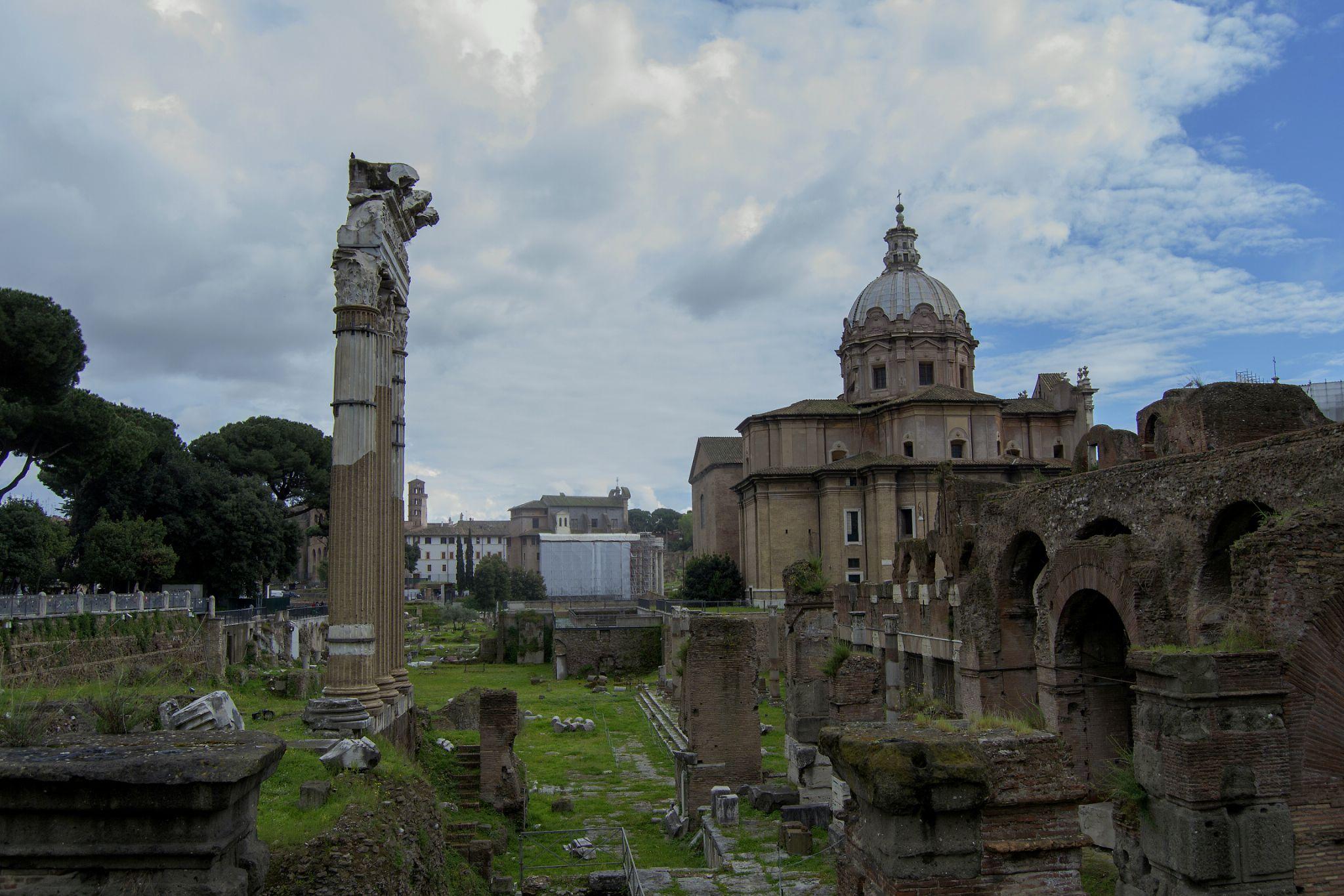 Rome, Via dei Fori Imperiali by PatriziaCortellessa