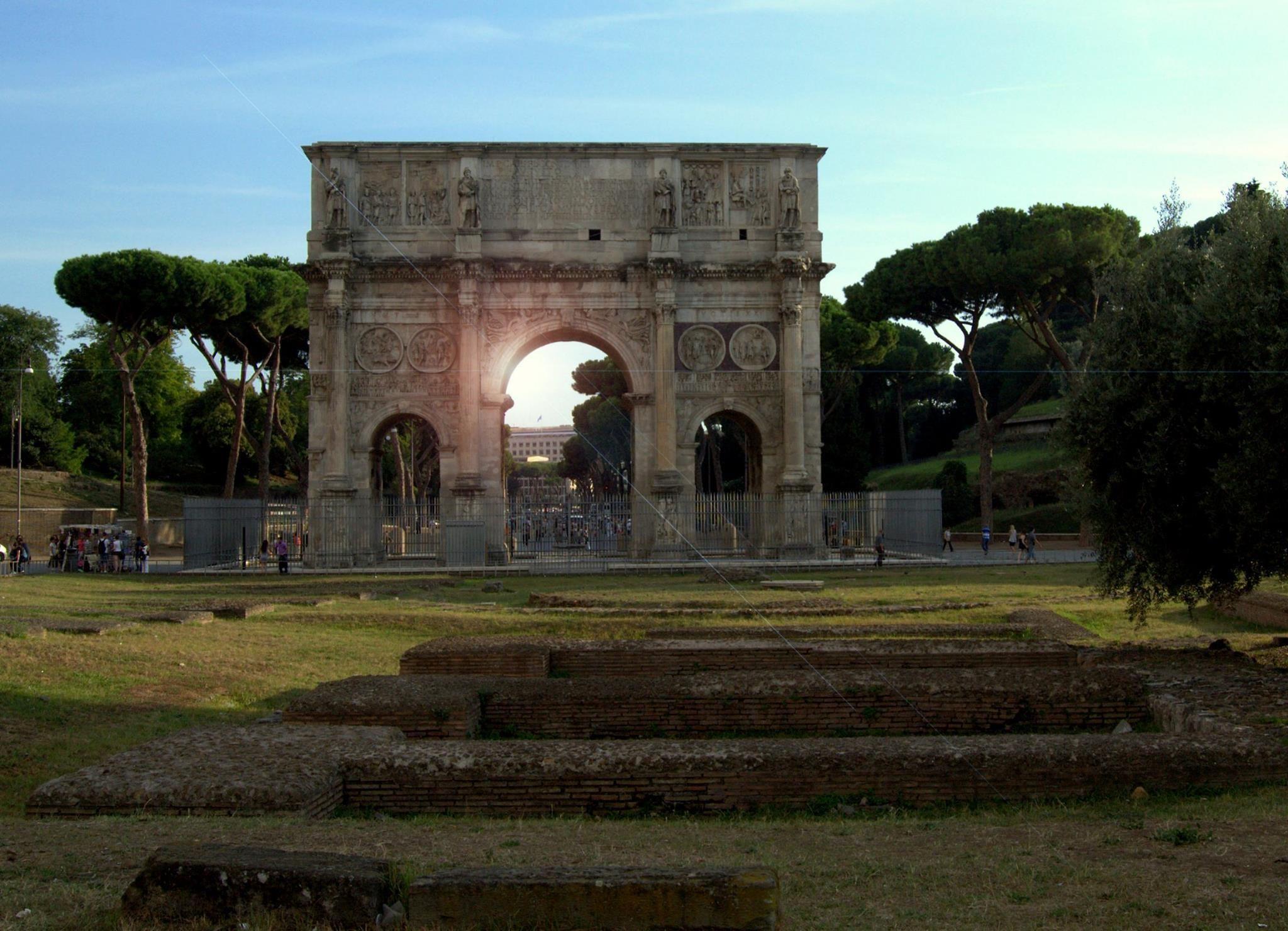 Arco di Costantino, Roma by PatriziaCortellessa
