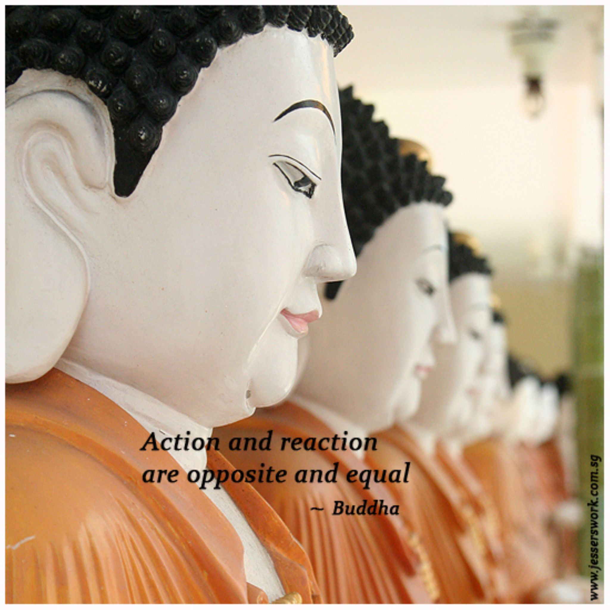 Buddhas by jessersim