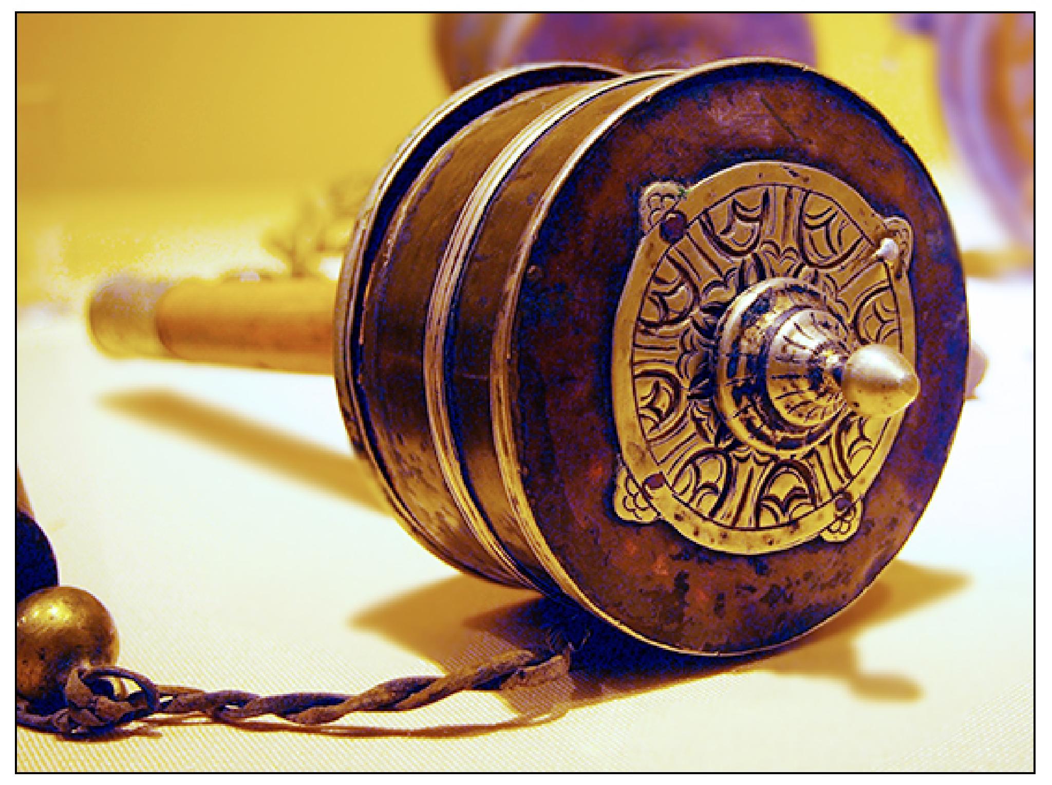 Tibetan Buddhist Prayer Wheel by jessersim