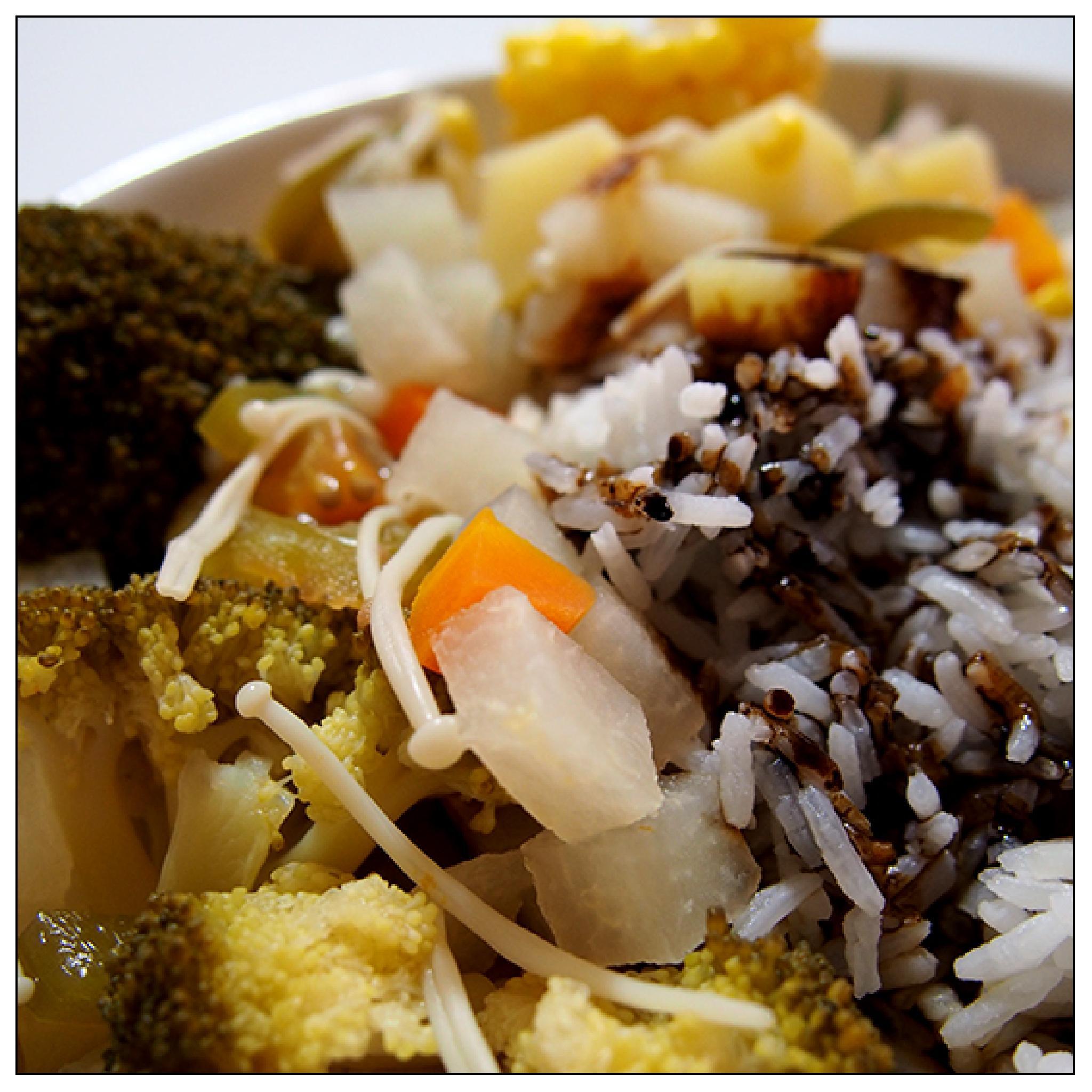 Vegetarian Day by jessersim