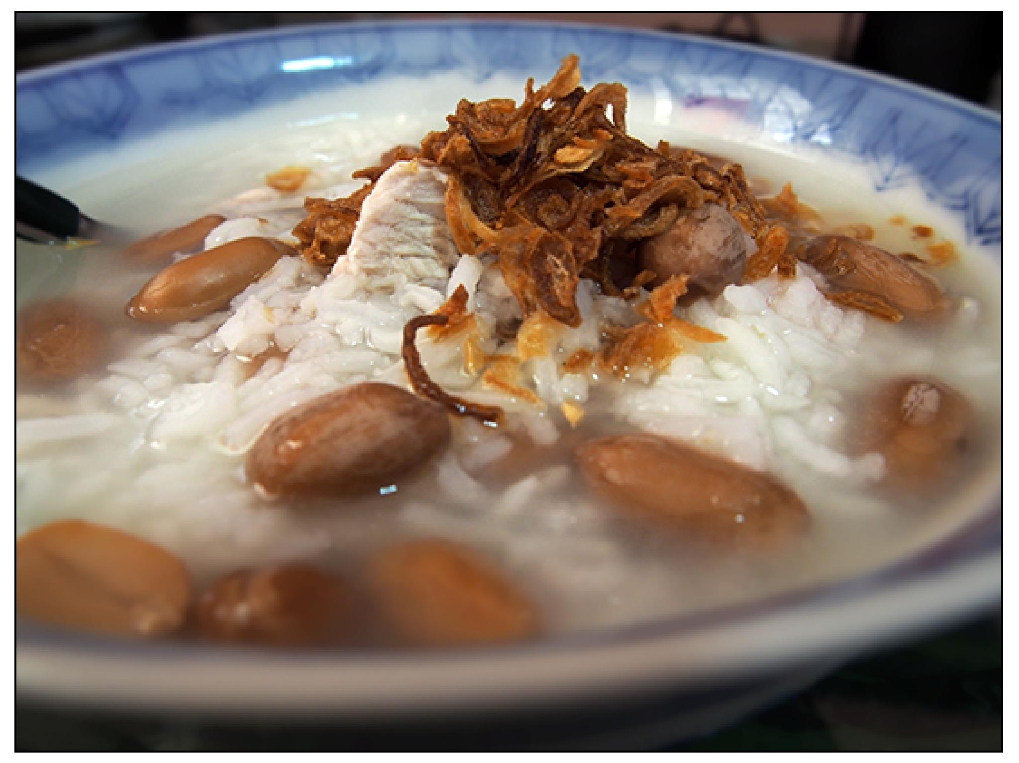 Chinese Peanuts Porridge by jessersim