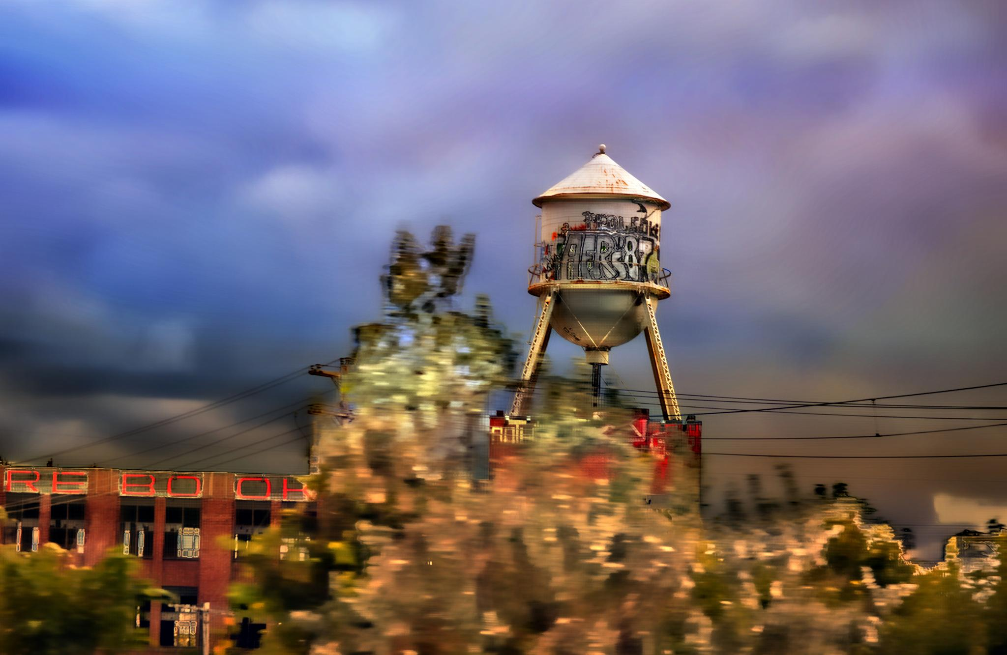 Water Tower by candy.holenchick
