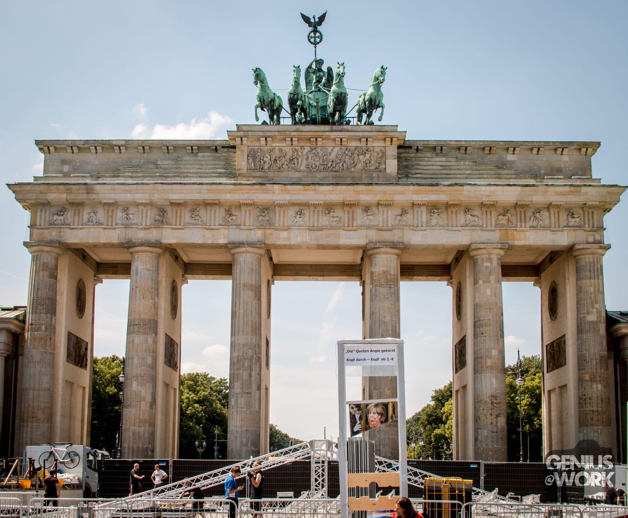 Brandenburg Gate by Jason Saint-Elie