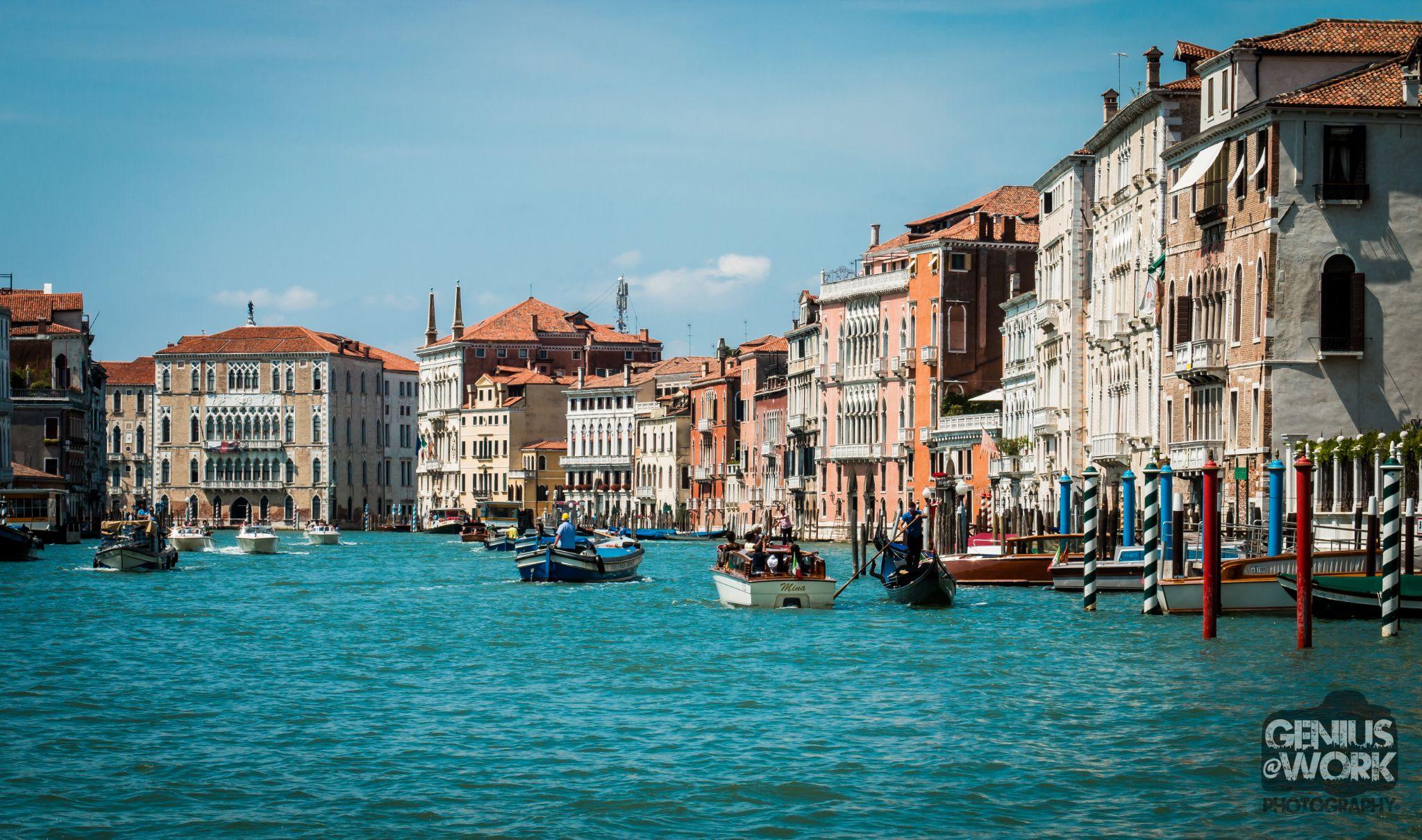 City on Water by Jason Saint-Elie