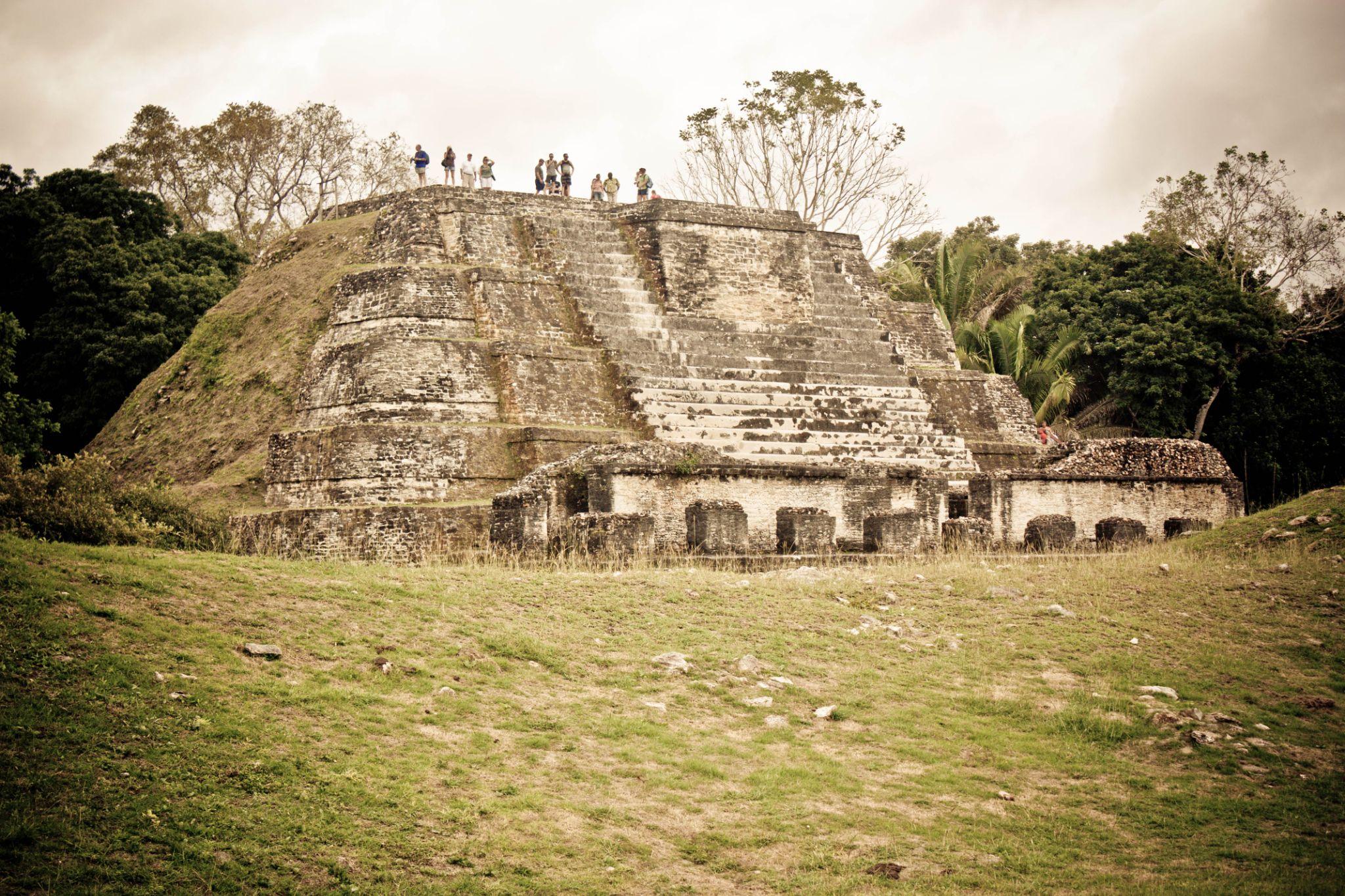 Mayan Ruins by Jason Saint-Elie