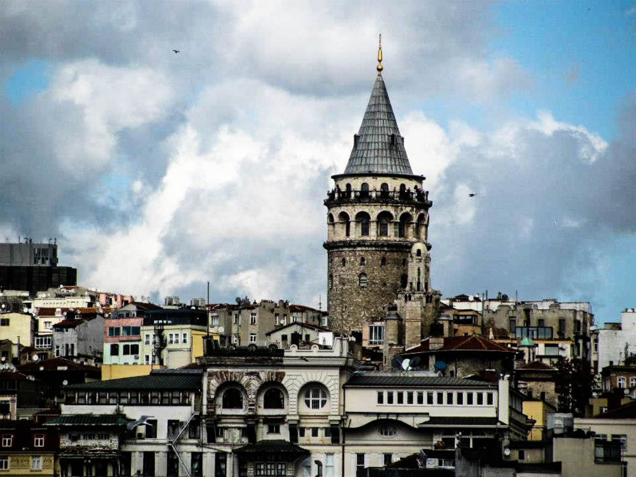 Galata tower by Aly Eldeen Mohamed