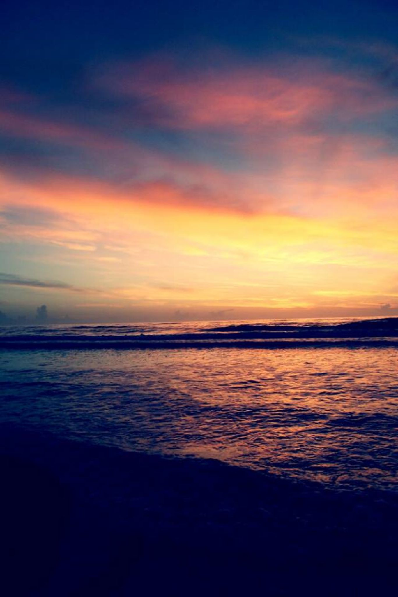 Rise along the oceanside by Chelsey Elizabeth