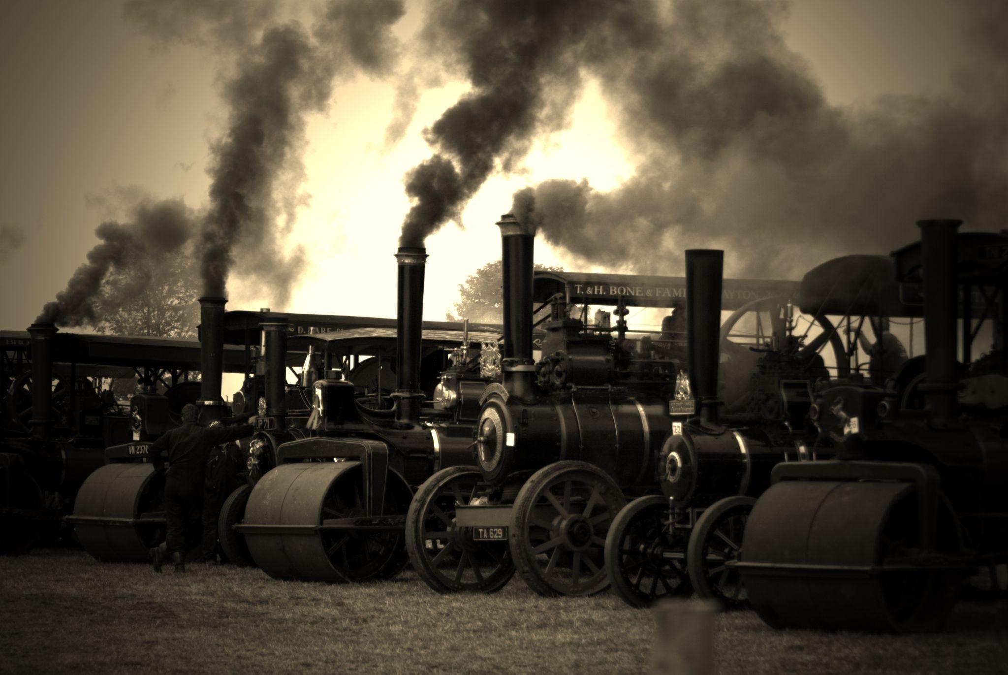 Age of steam by Kaz Matthews