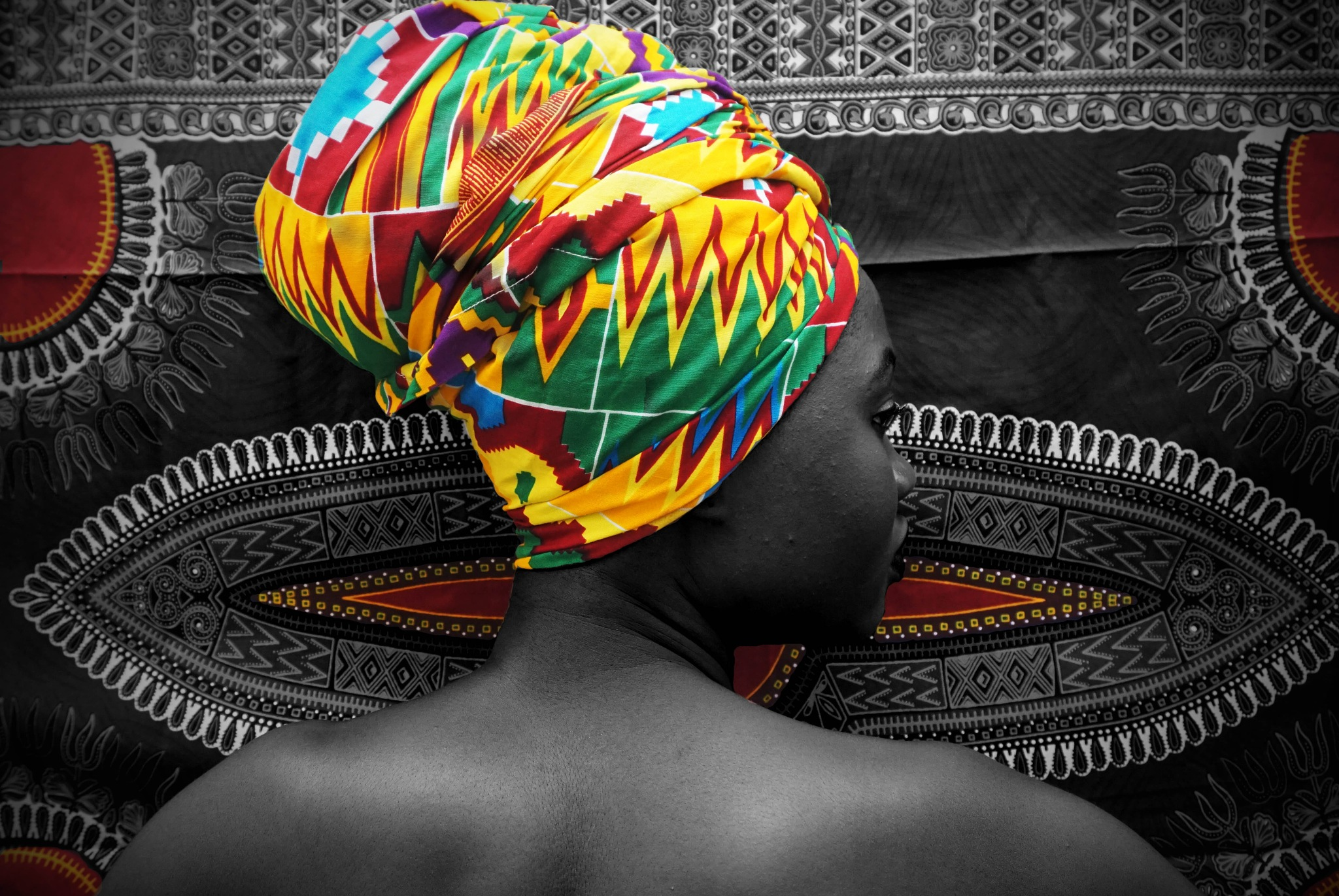 African Woman by Axelle