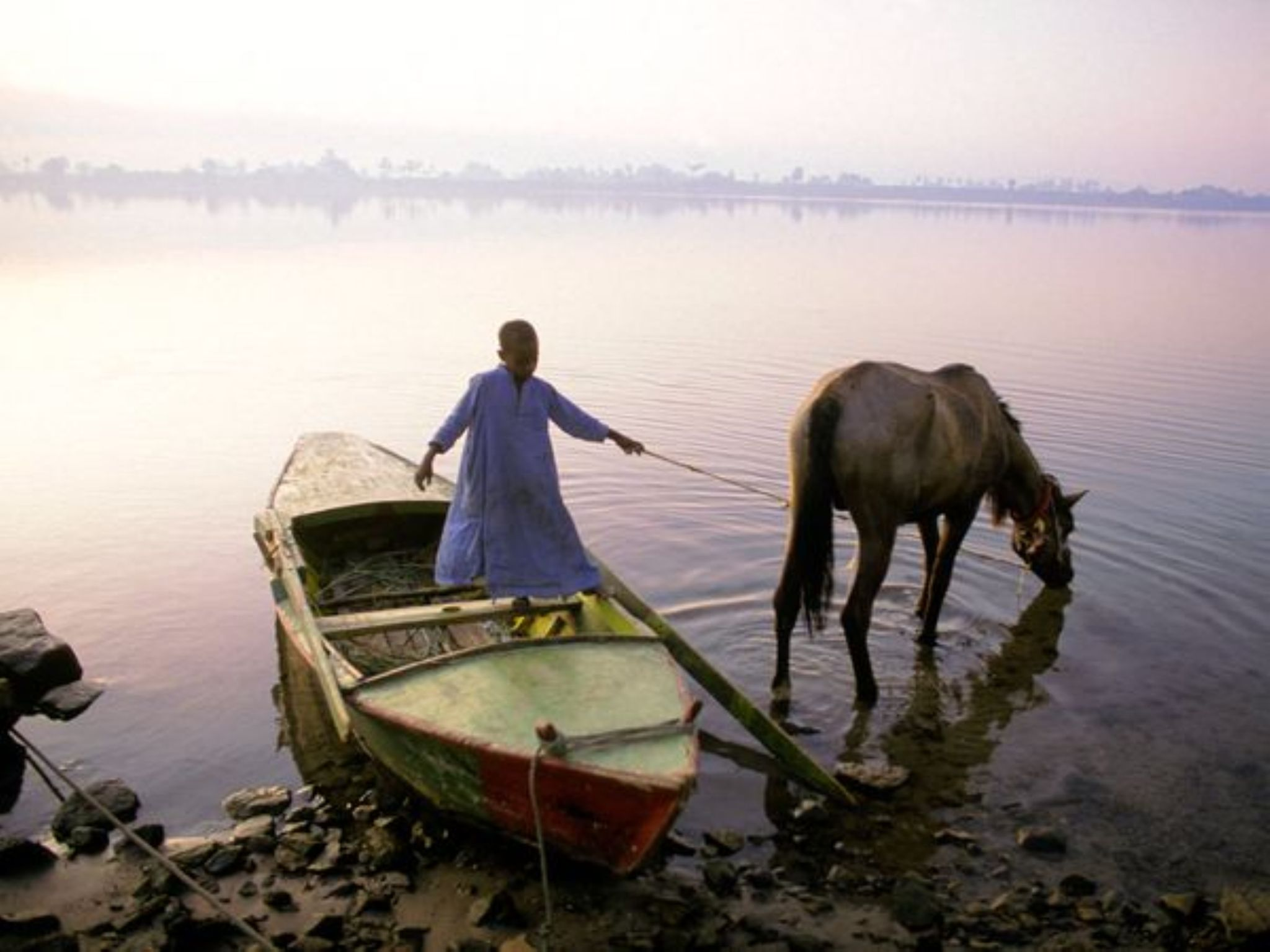Morning on the Nile by PhotographyNa.