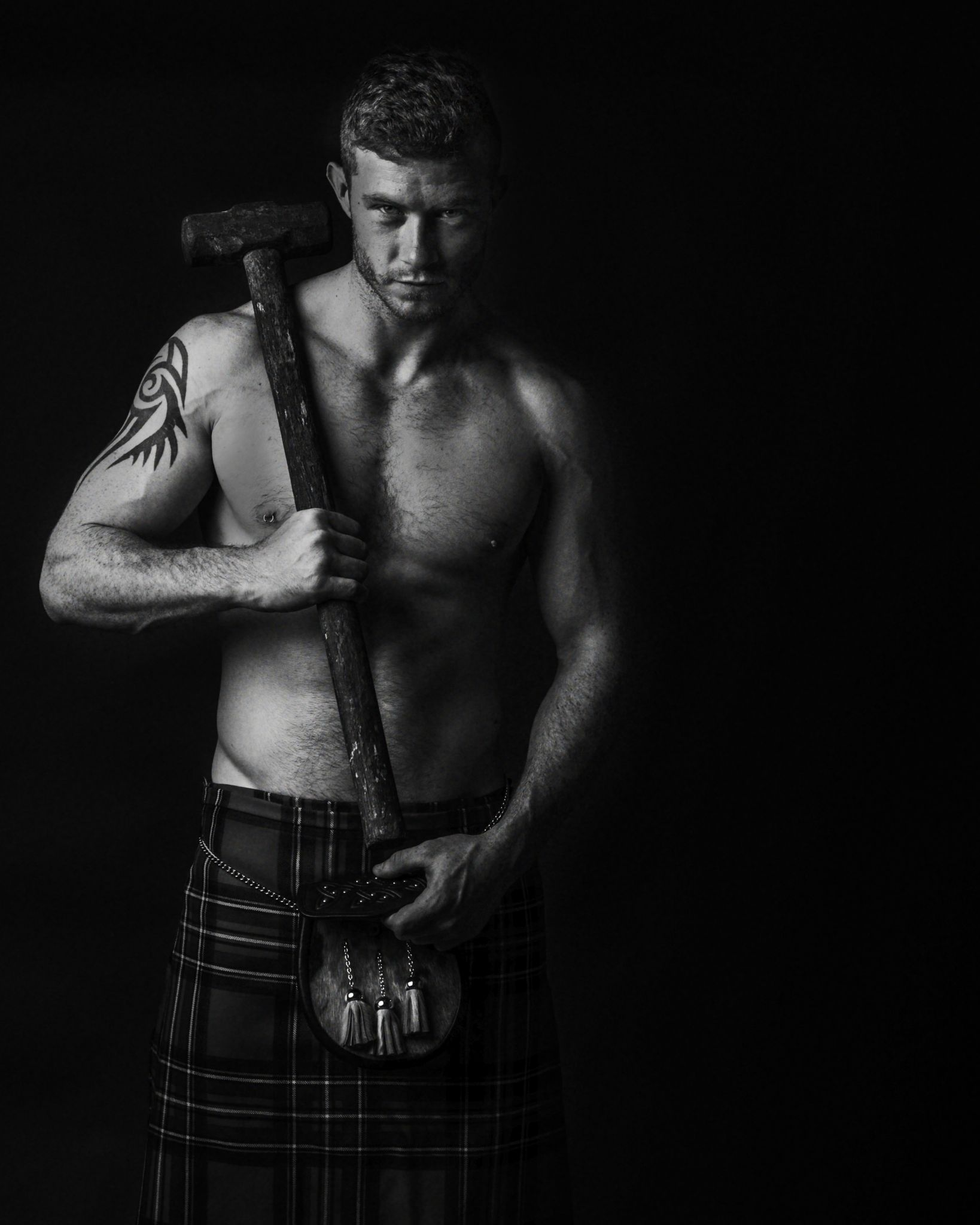 "Marc from ""Men in Kilts"" series by Jules by jules.hunter"